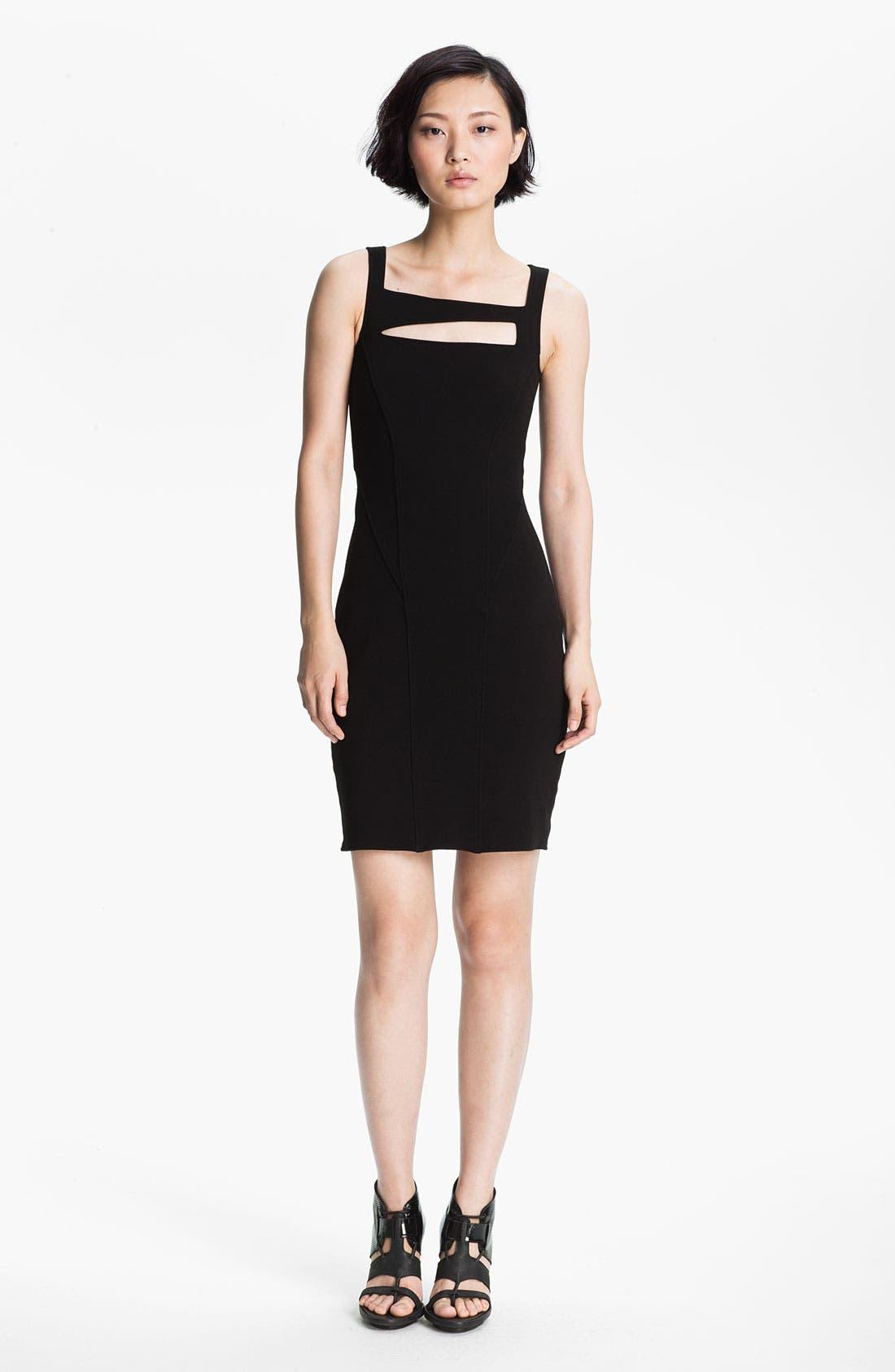 Main Image - HELMUT Helmut Lang 'Gala' Knit Dress