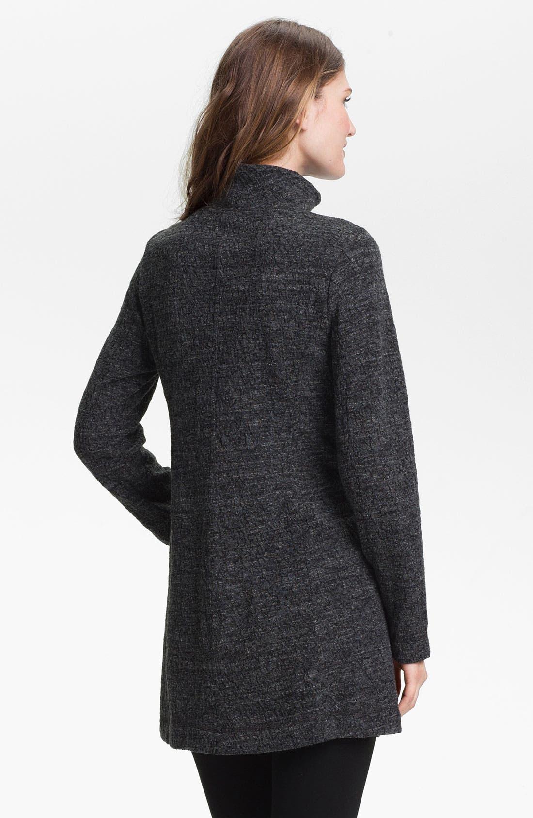 Alternate Image 2  - Eileen Fisher Funnel Neck Zip Jacket (Online Exclusive)