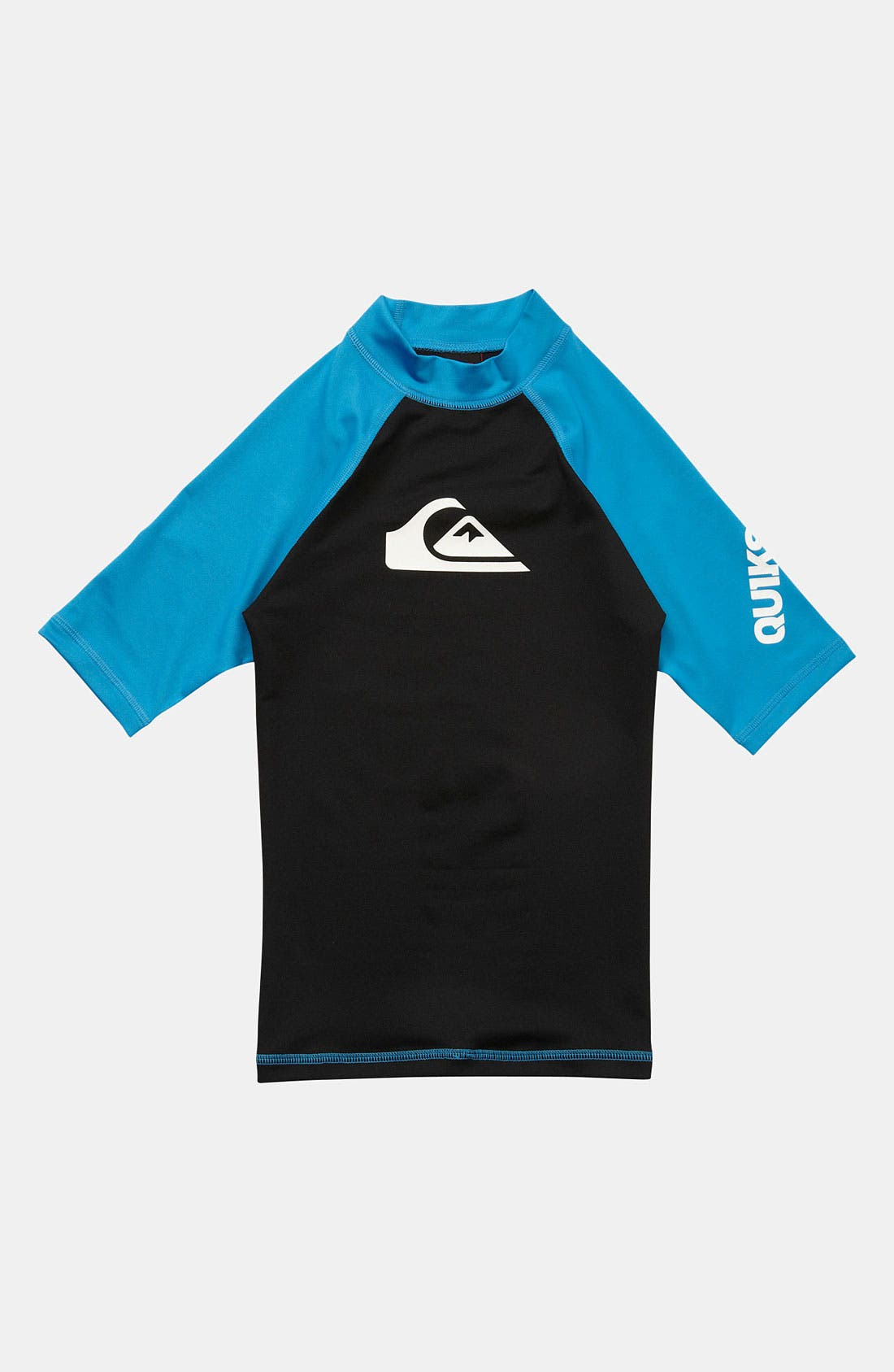 Main Image - Quiksilver 'All Time' Sun Protection Rashguard (Big Boys)