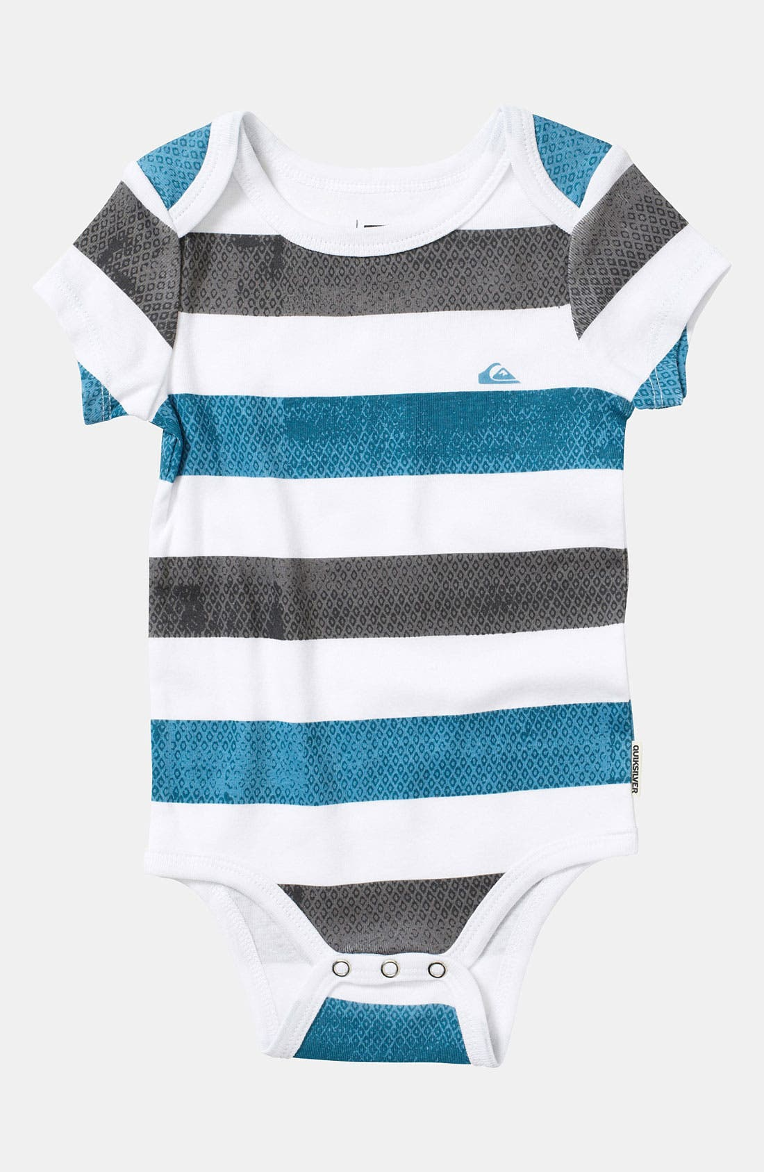 Alternate Image 3  - Quiksilver 'Signature' Bodysuit (2-Pack) (Infant)