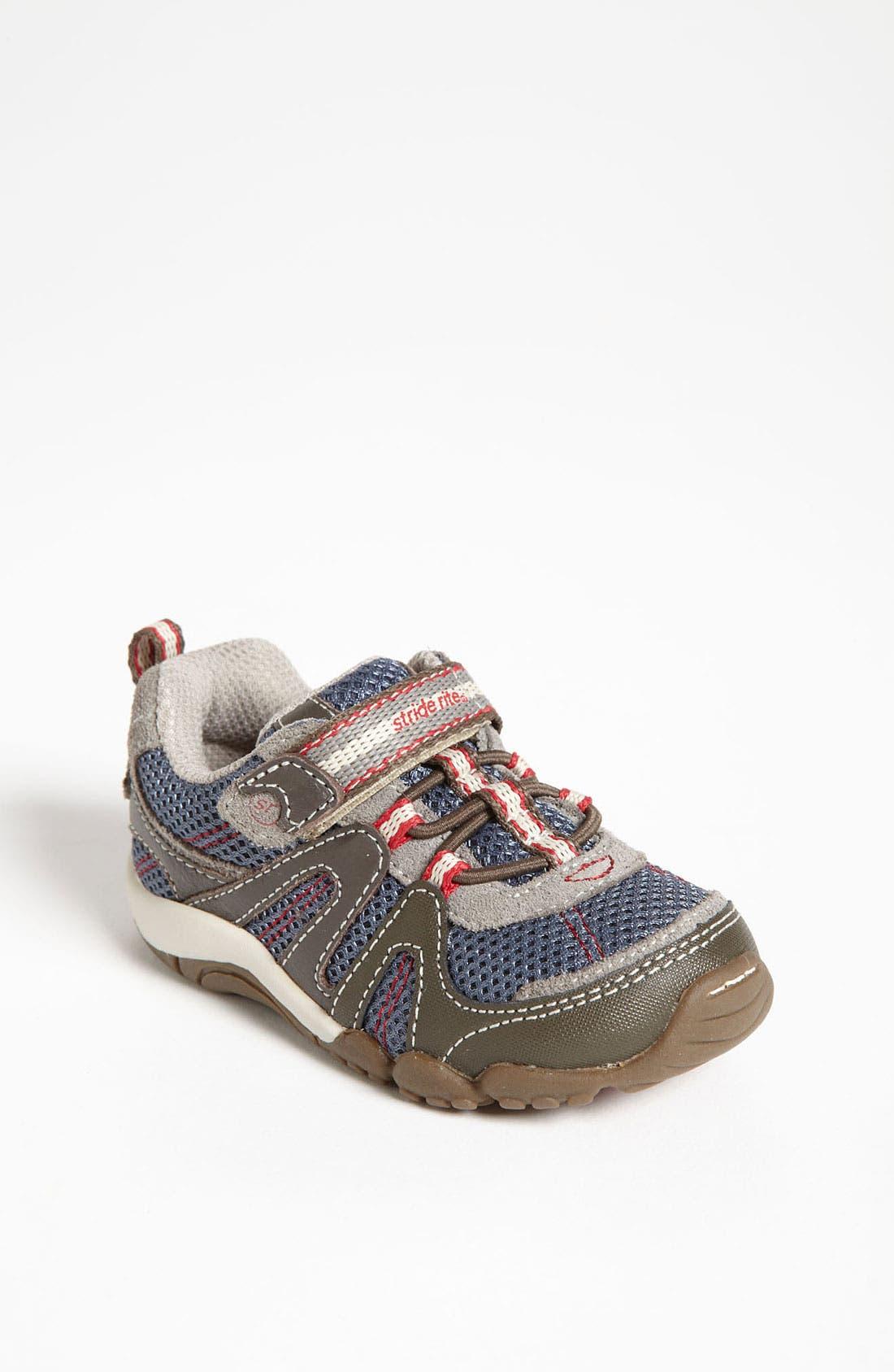 Alternate Image 1 Selected - Stride Rite 'Palmer' Sneaker (Baby, Walker & Toddler)
