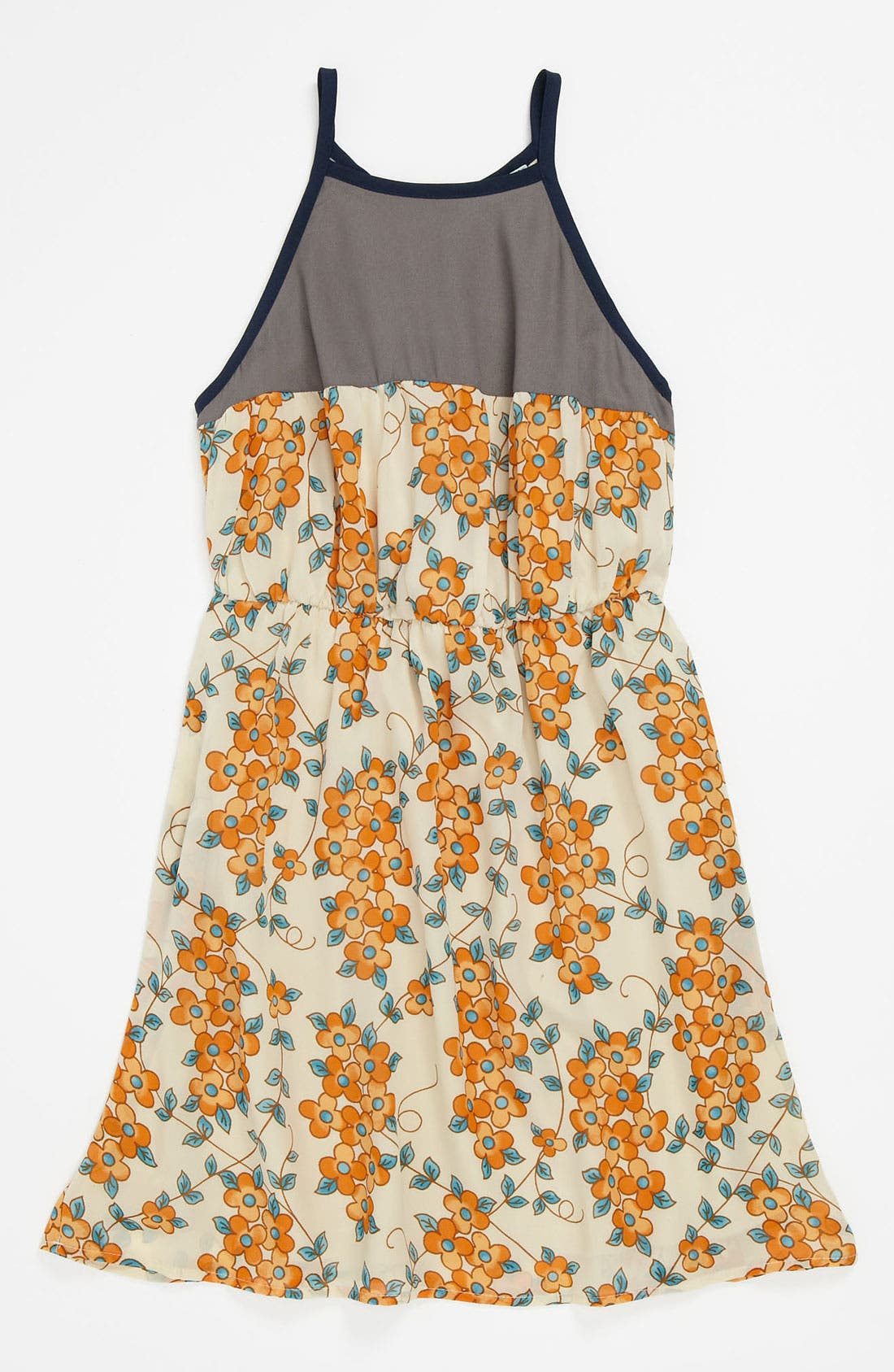 Alternate Image 1 Selected - Mia Chica Print Dress (Little Girls & Big Girls)