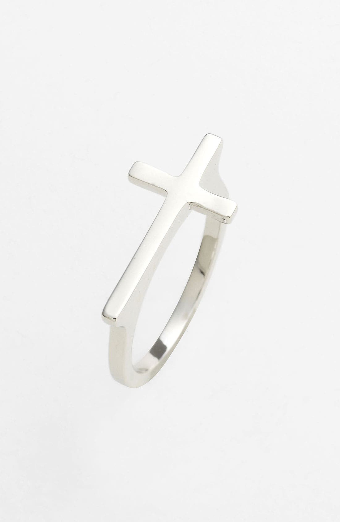 Alternate Image 1 Selected - Ariella Collection Cross Ring