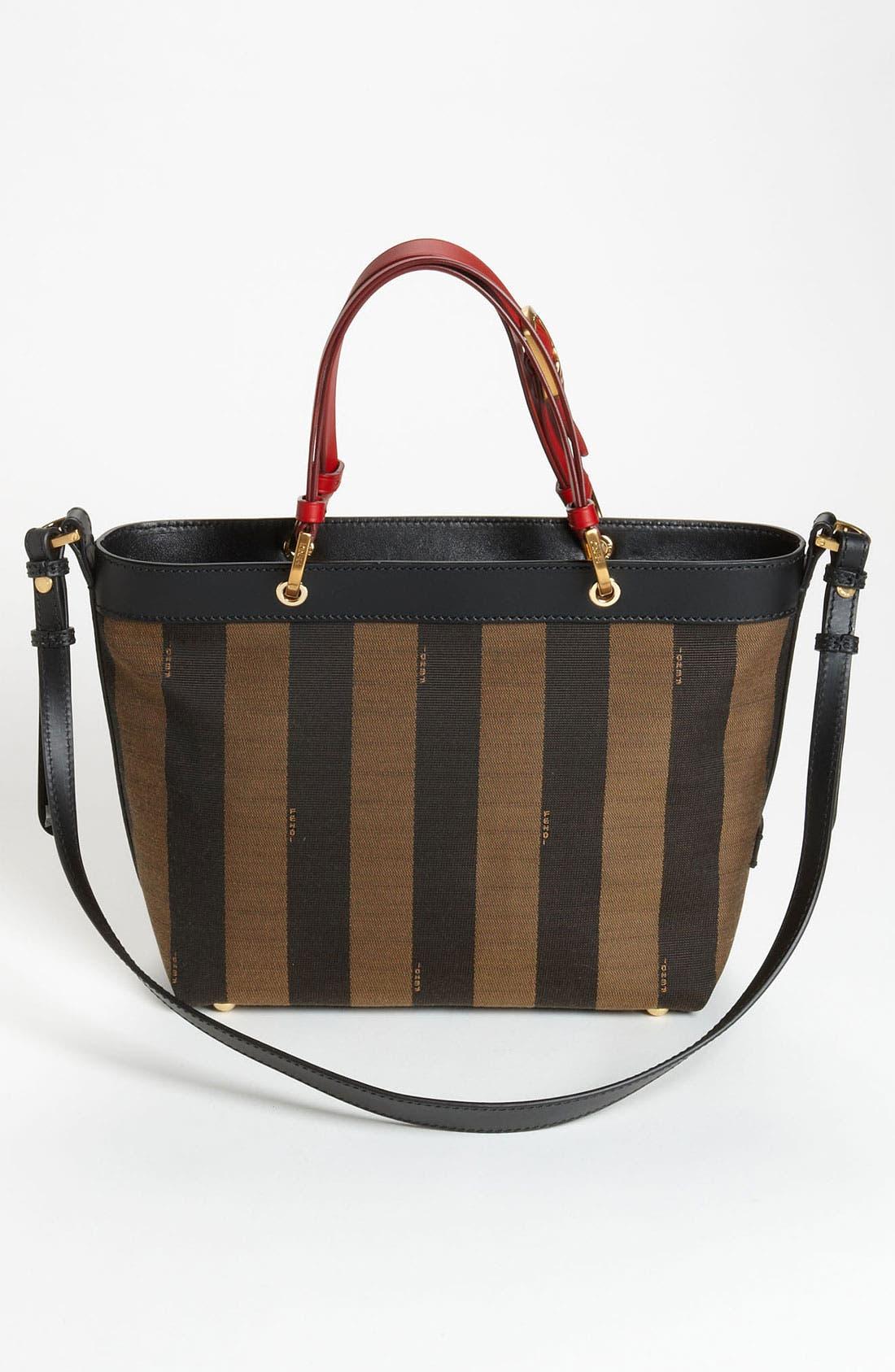 Alternate Image 4  - Fendi 'Small Pequin' Shoulder Bag