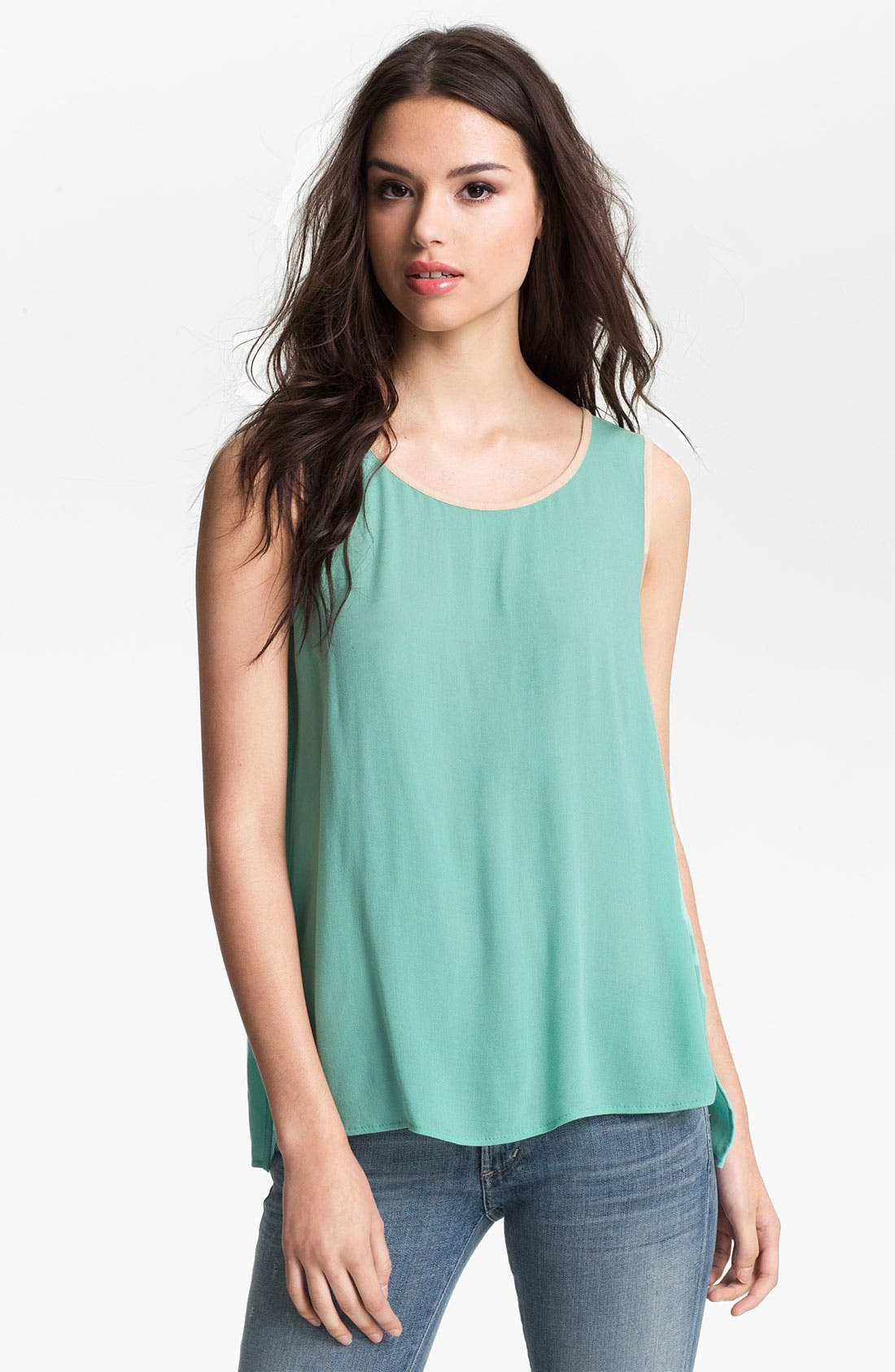 Alternate Image 1 Selected - Ella Moss 'Stella' Split Back Tank