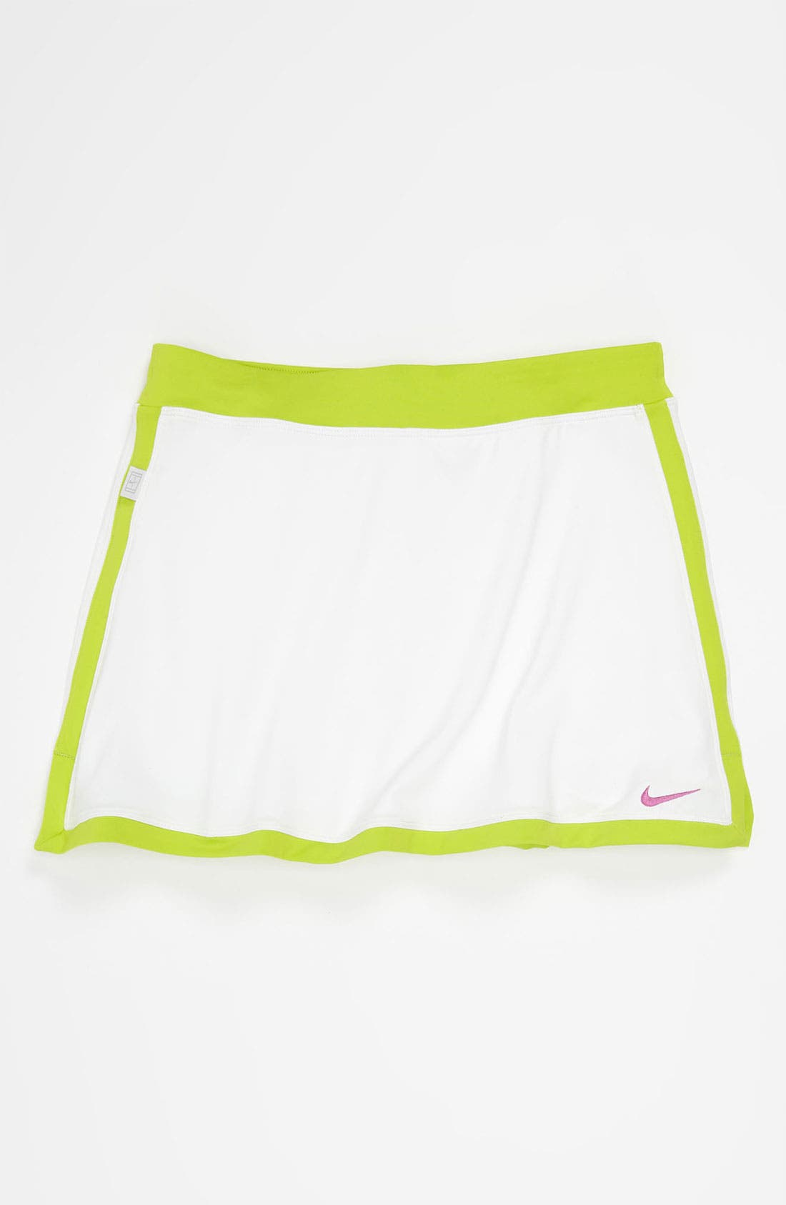 Alternate Image 1 Selected - Nike 'Border' Tennis Skirt (Big Girls)