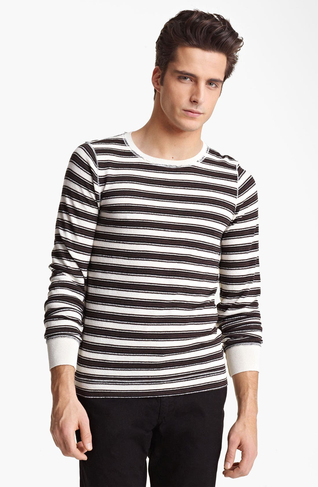 Alternate Image 1 Selected - Dolce&Gabbana Stripe Crewneck Sweater