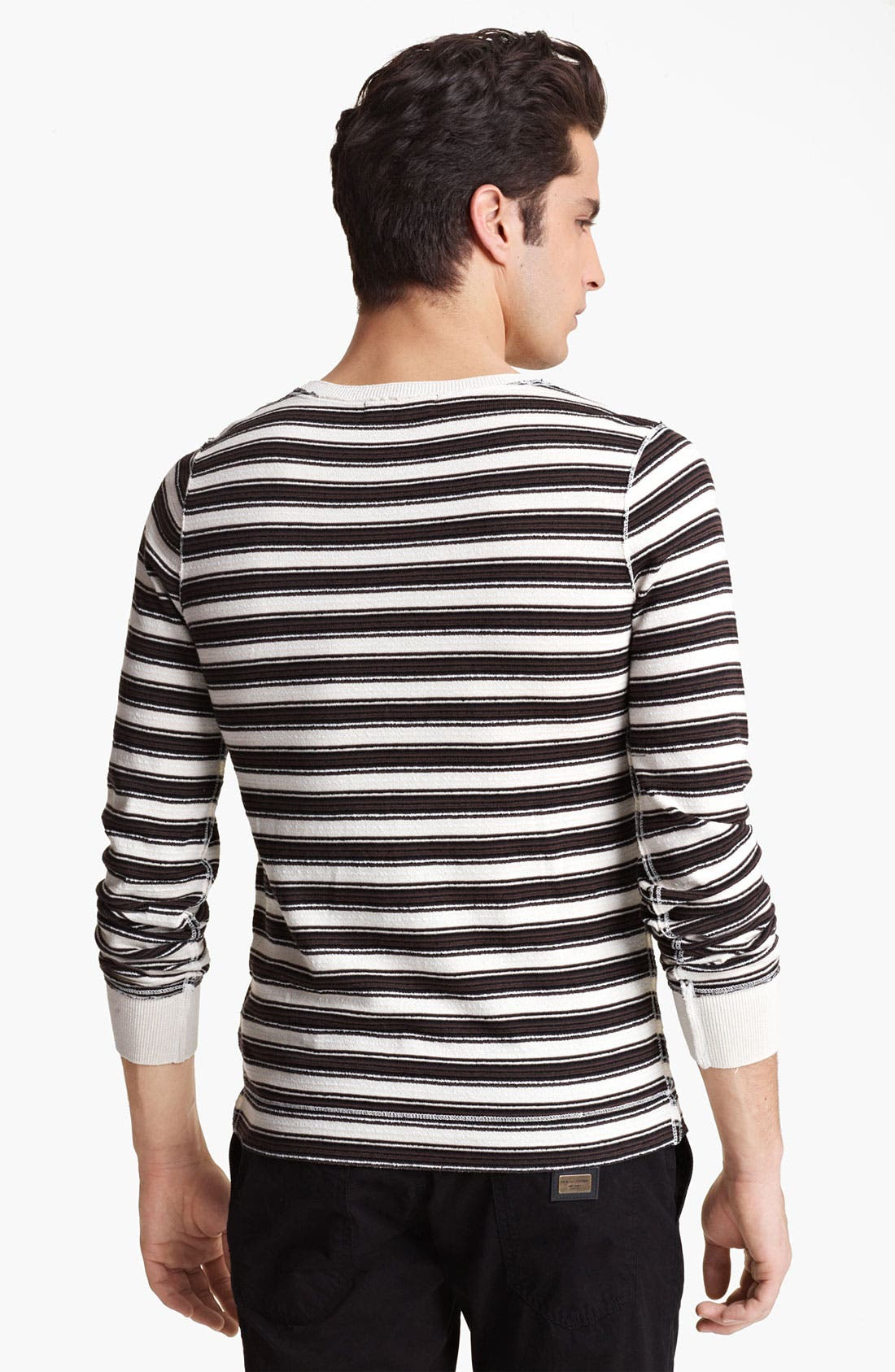 Alternate Image 2  - Dolce&Gabbana Stripe Crewneck Sweater