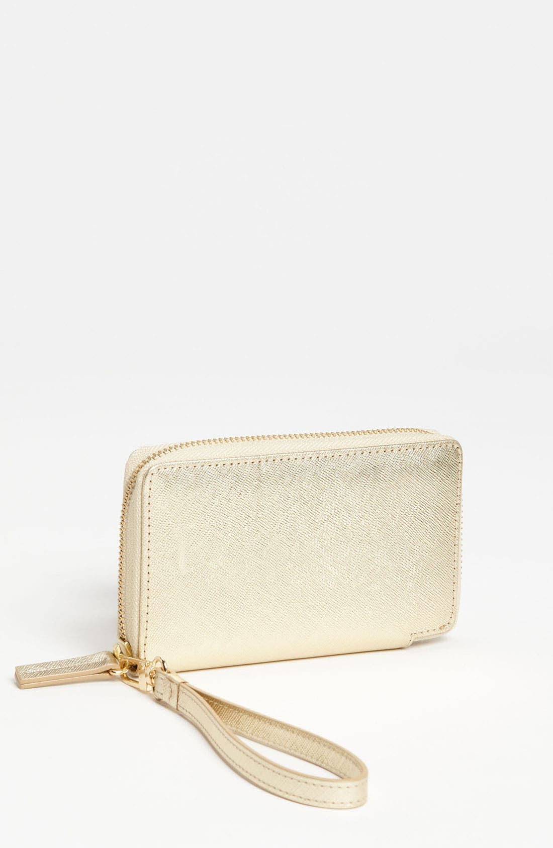 Main Image - Halogen® 'Cassie - Small' Leather Wristlet