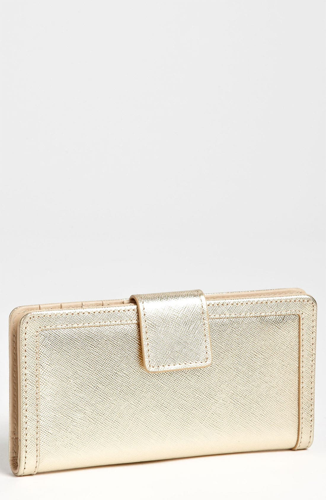 Alternate Image 1 Selected - Halogen® 'Victoria' Leather Wallet