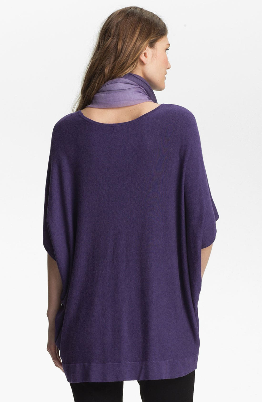 Alternate Image 2  - Eileen Fisher Bateau Neck Boxy Knit Top (Online Exclusive)