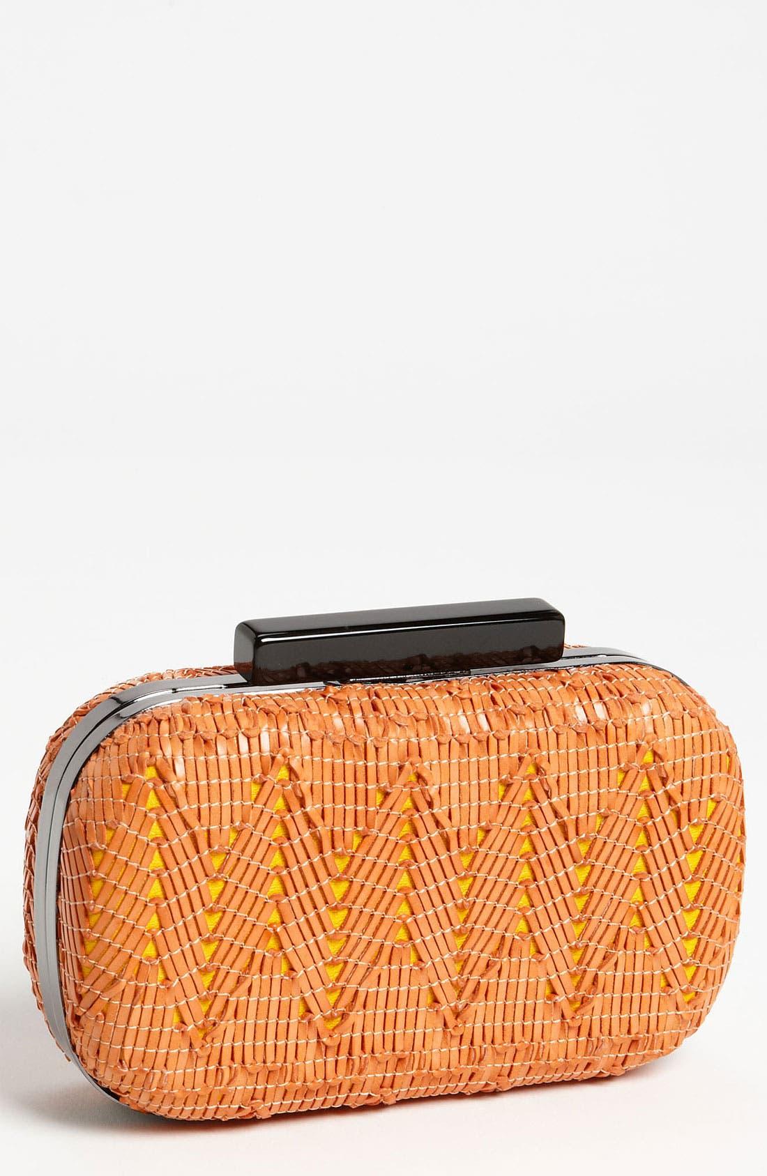 Alternate Image 1 Selected - Natasha Couture 'Basket Case' Clutch
