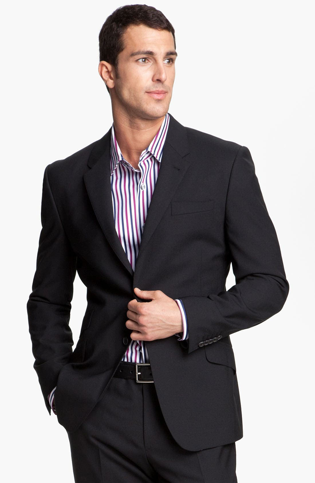 Alternate Image 1 Selected - Paul Smith London Stretch Wool Suit