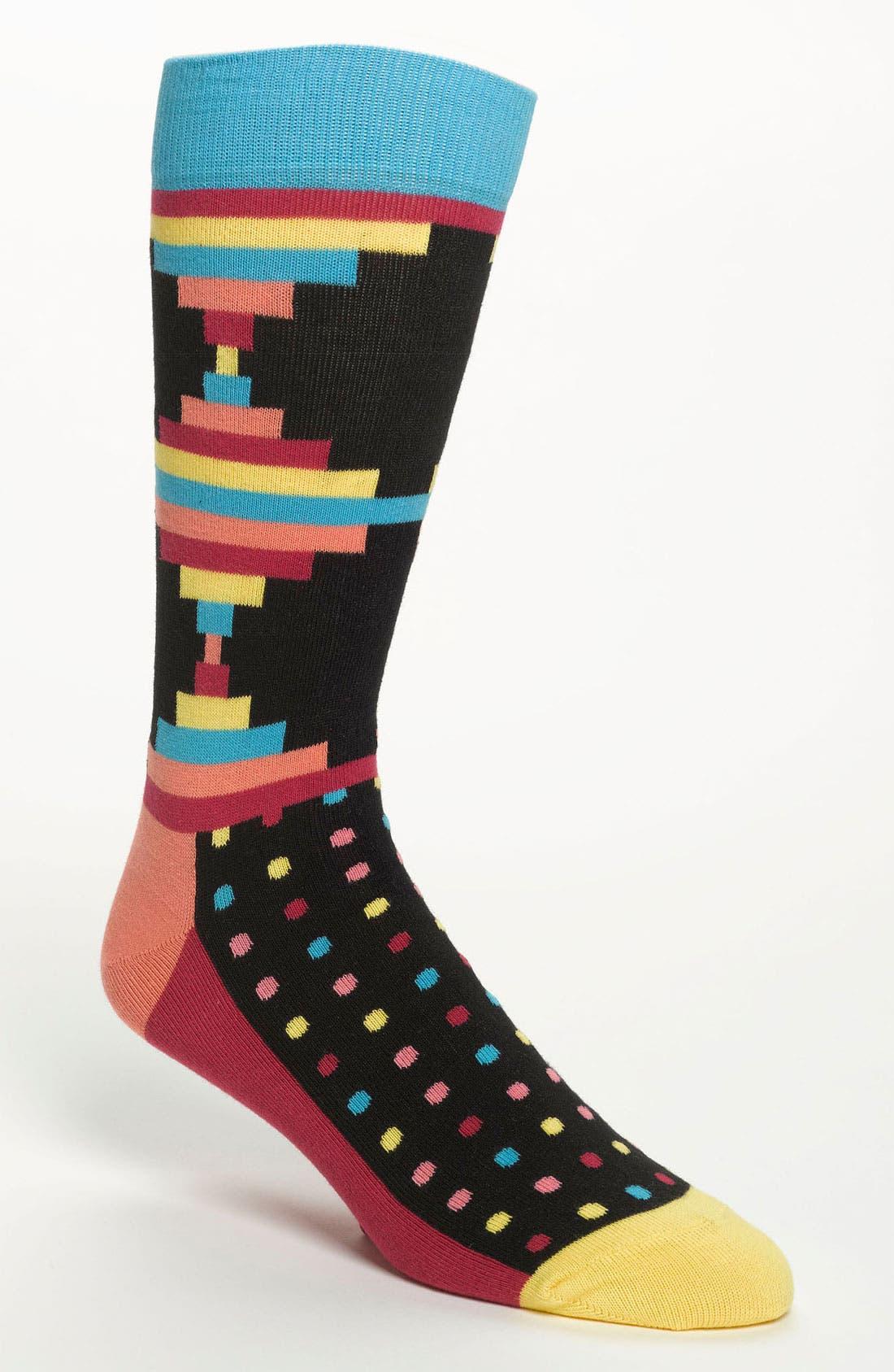 Alternate Image 1 Selected - Happy Socks 'Inca' Pattern Socks