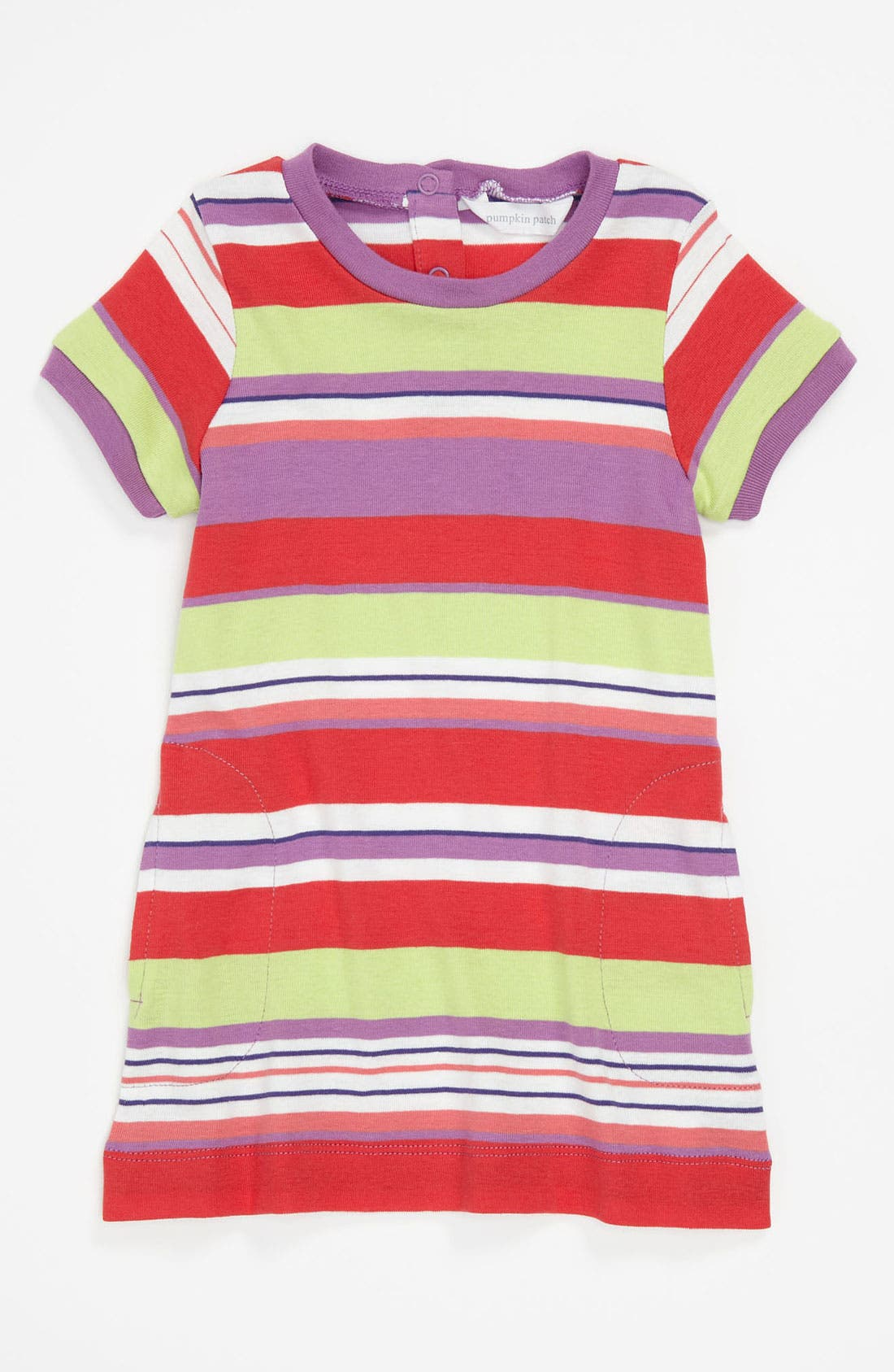 Main Image - Pumpkin Patch Knit Dress (Toddler)