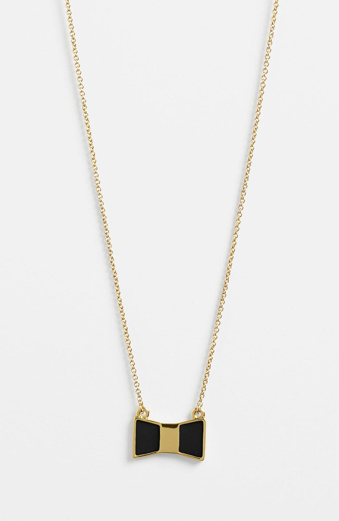 Alternate Image 1 Selected - kate spade new york 'bow shoppe' pendant necklace