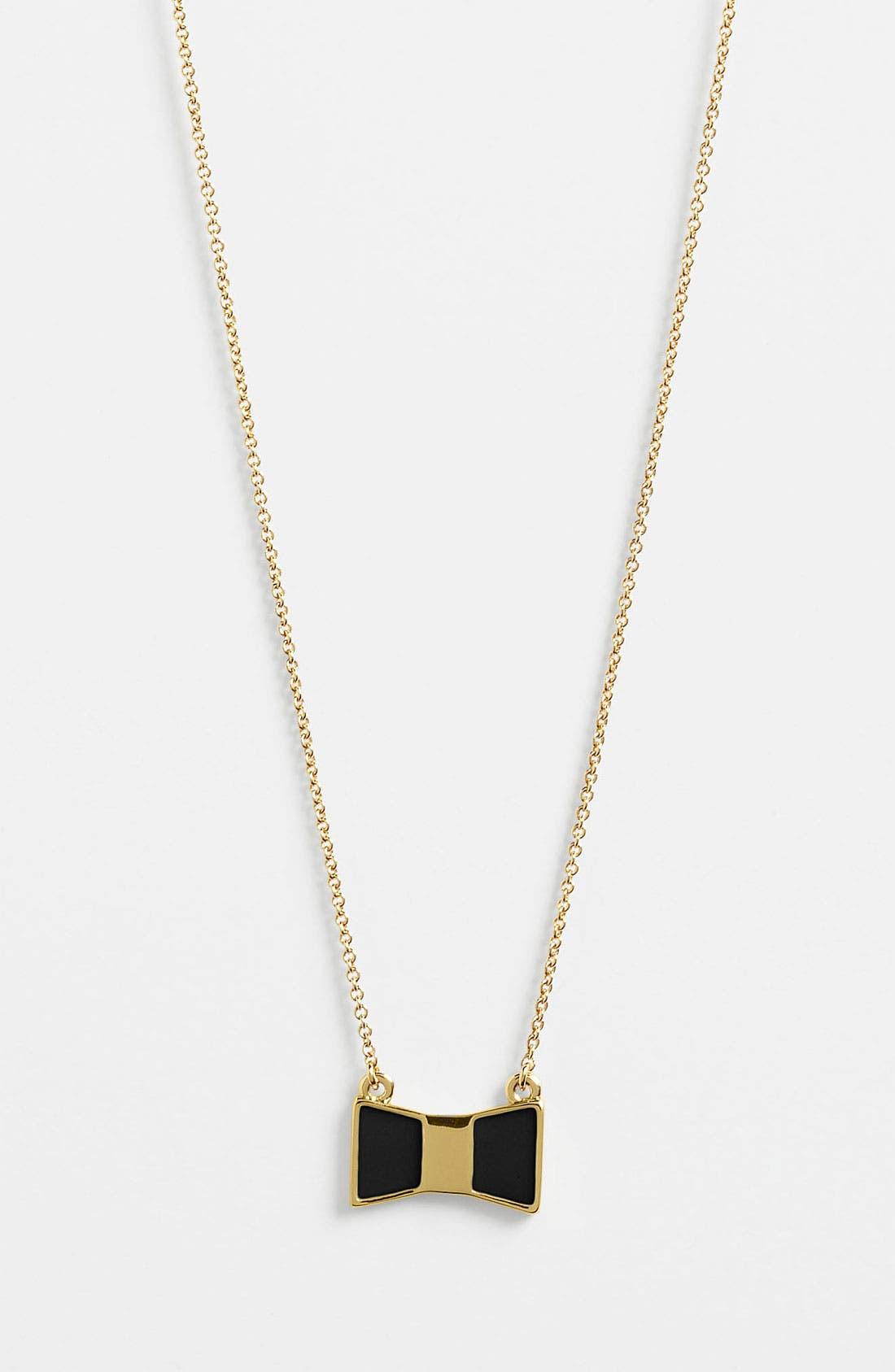 Main Image - kate spade new york 'bow shoppe' pendant necklace