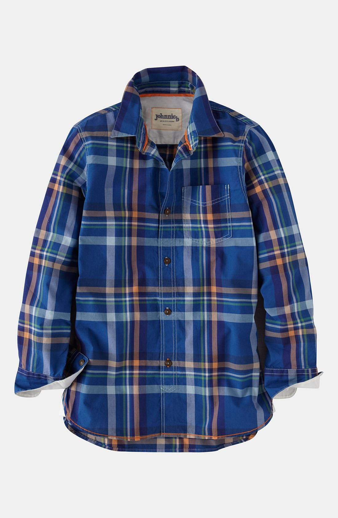 Alternate Image 1 Selected - Johnnie b Woven Shirt (Big Boys)