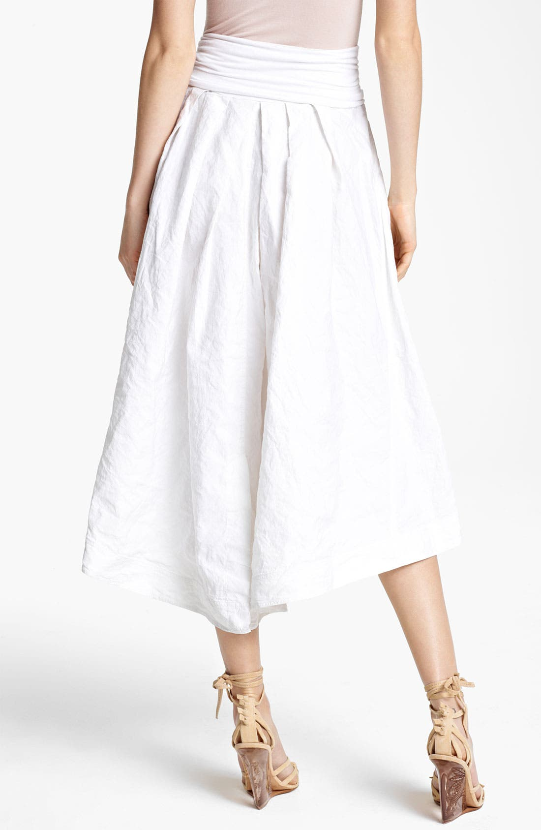 Alternate Image 2  - Donna Karan Collection Parachute Cotton Skirt