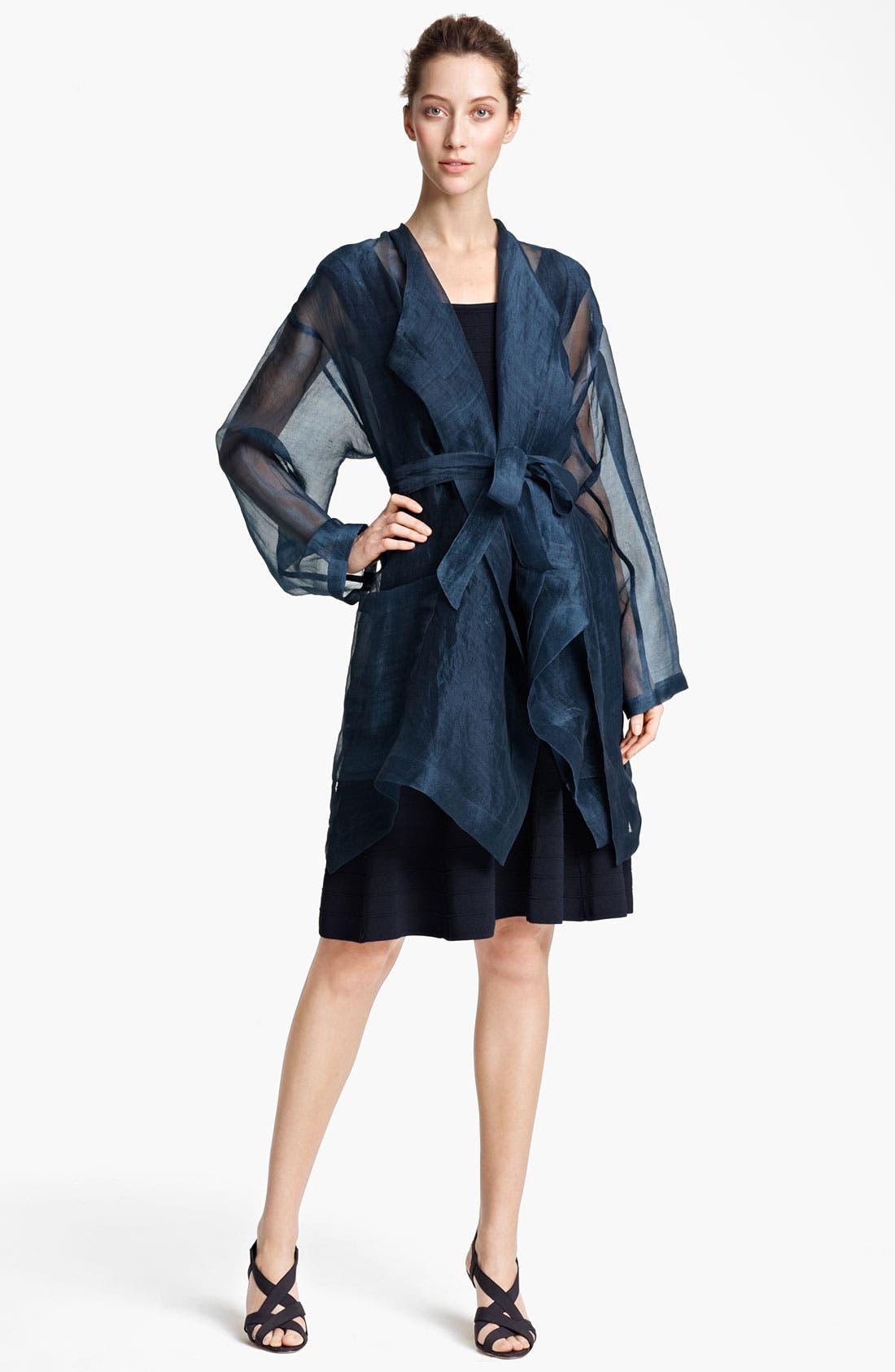 Alternate Image 1 Selected - Donna Karan Collection Coat & Dress