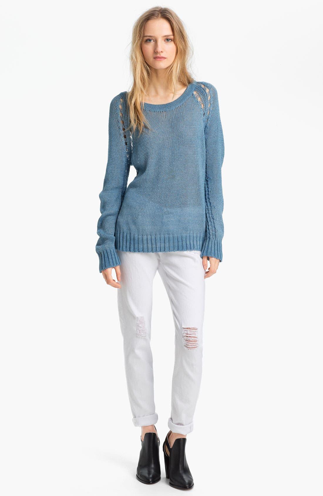 Alternate Image 4  - rag & bone/JEAN 'The Dash' Slouchy Skinny Jeans