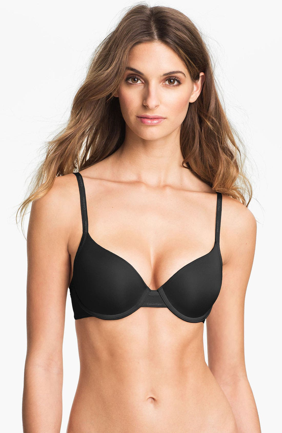 Main Image - Calvin Klein 'Perfectly Fit Sexy Signature' Underwire Demi Bra