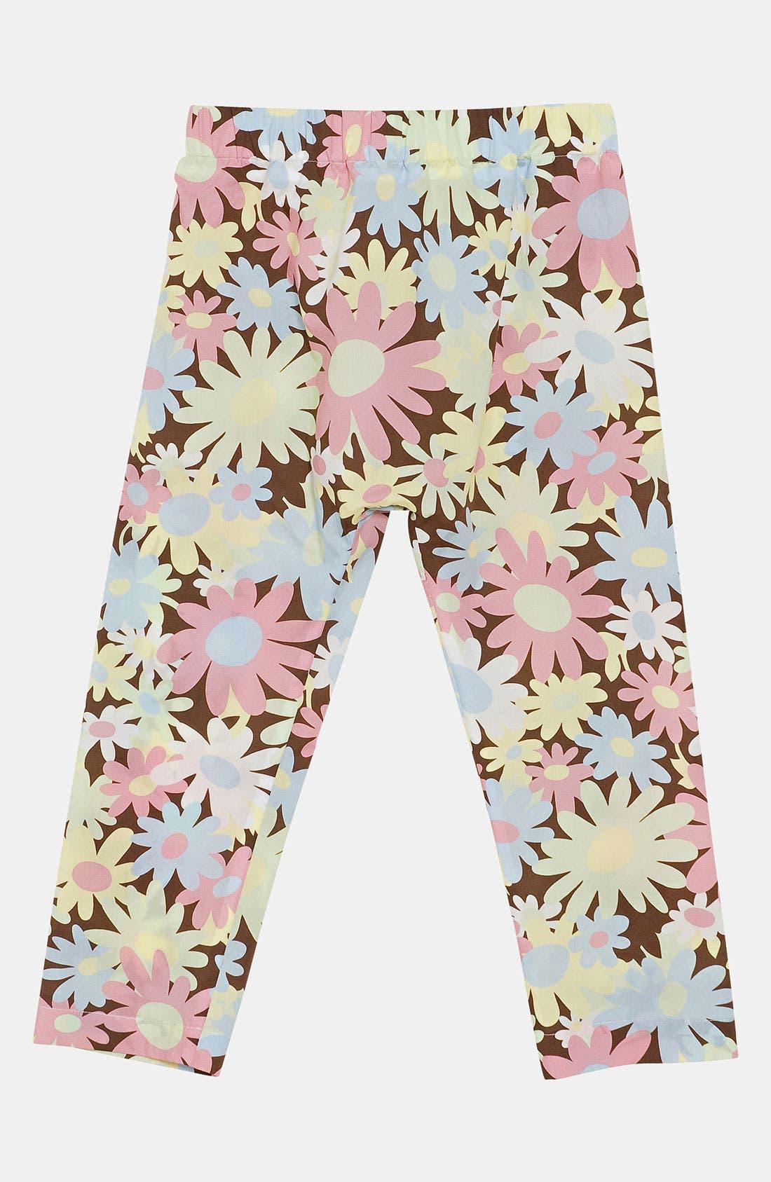 Alternate Image 2  - Marni Floral Print Trousers (Little Girls & Big Girls)