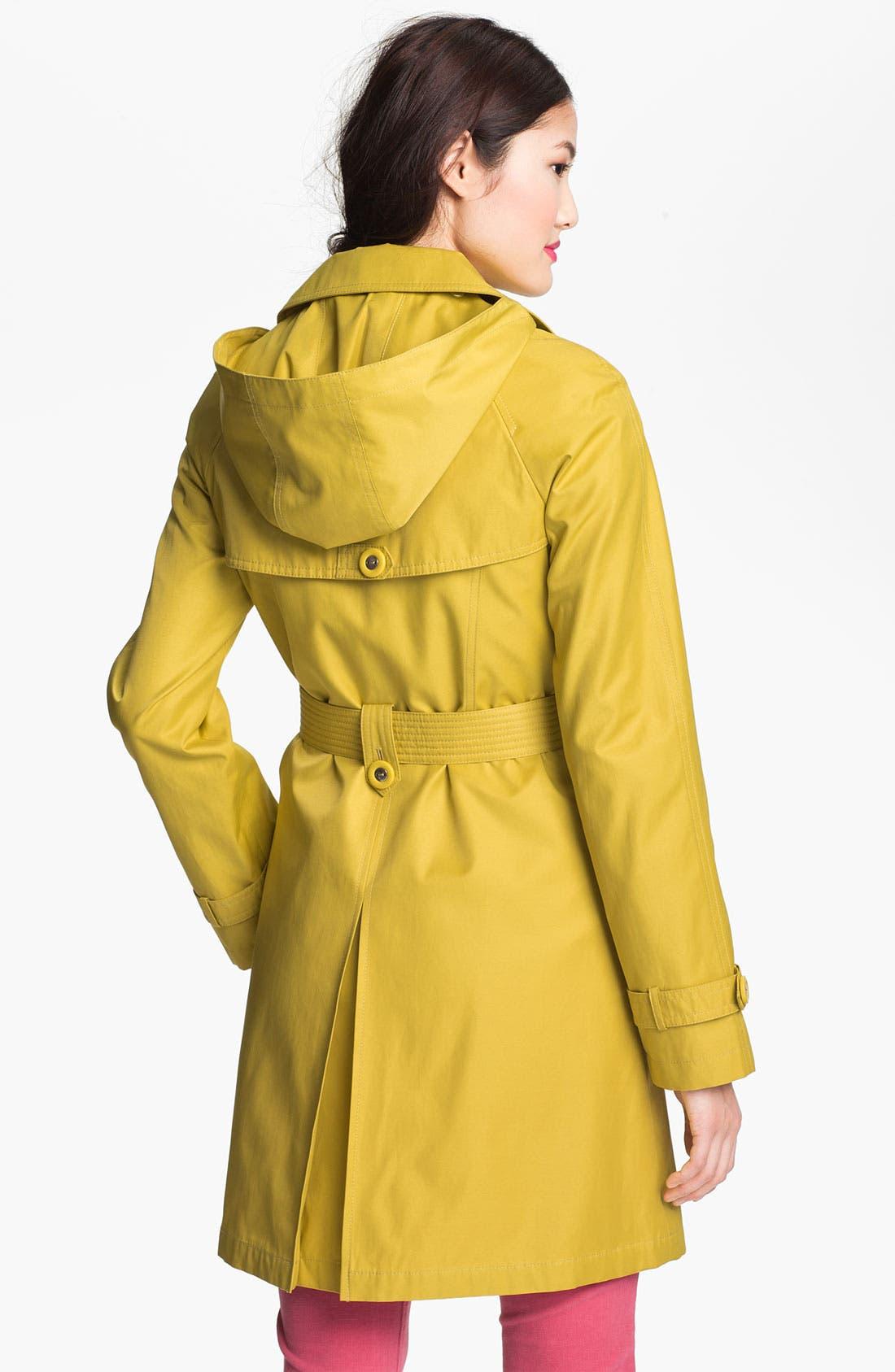 Alternate Image 2  - Gallery Raglan Sleeve Trench Coat