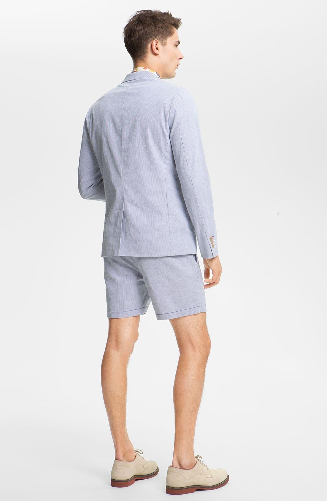 Alternate Image 3  - Original Penguin Stripe Pincord Shorts