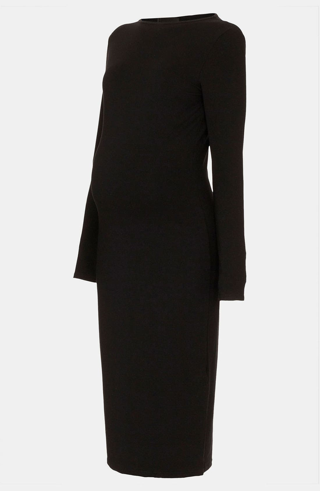 Alternate Image 1 Selected - Topshop Body-Con Maternity Midi Dress