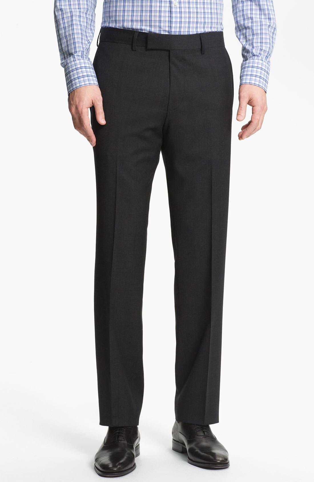 Alternate Image 4  - BOSS Black 'Pasini/Movie' Plaid Wool Suit