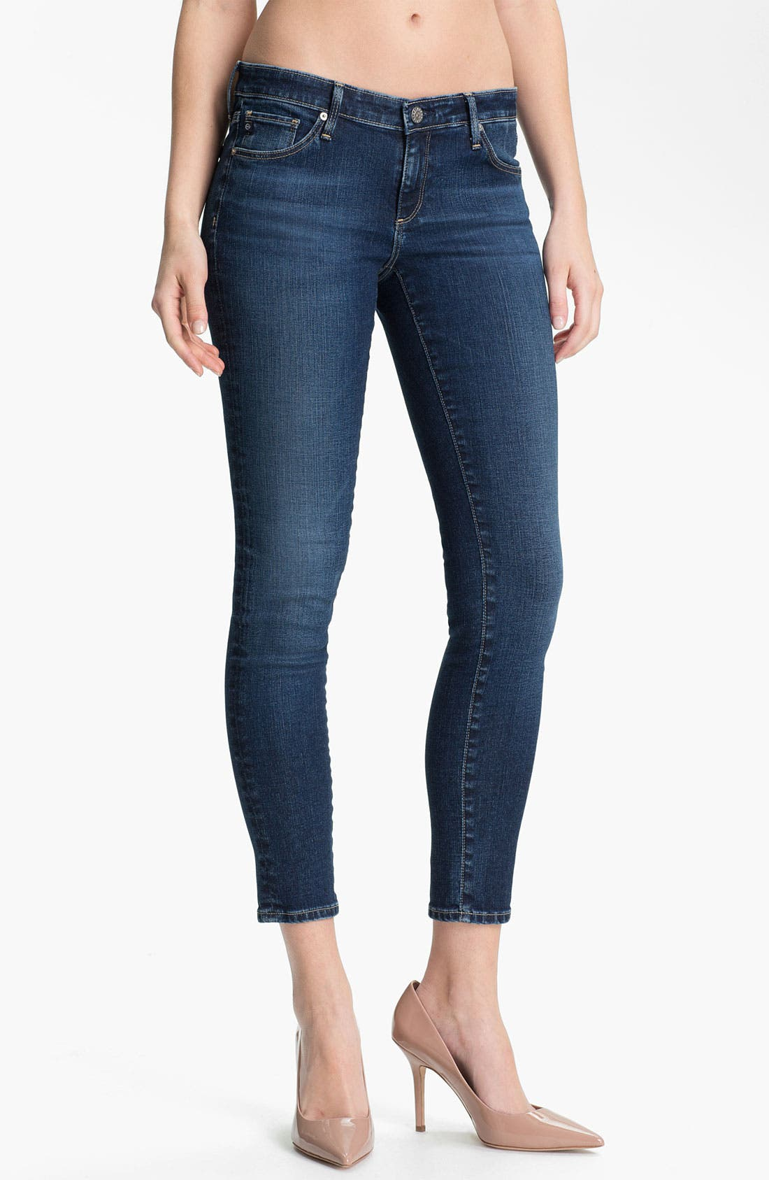 Alternate Image 1 Selected - AG 'The Legging' Ankle Jeans (Rio)