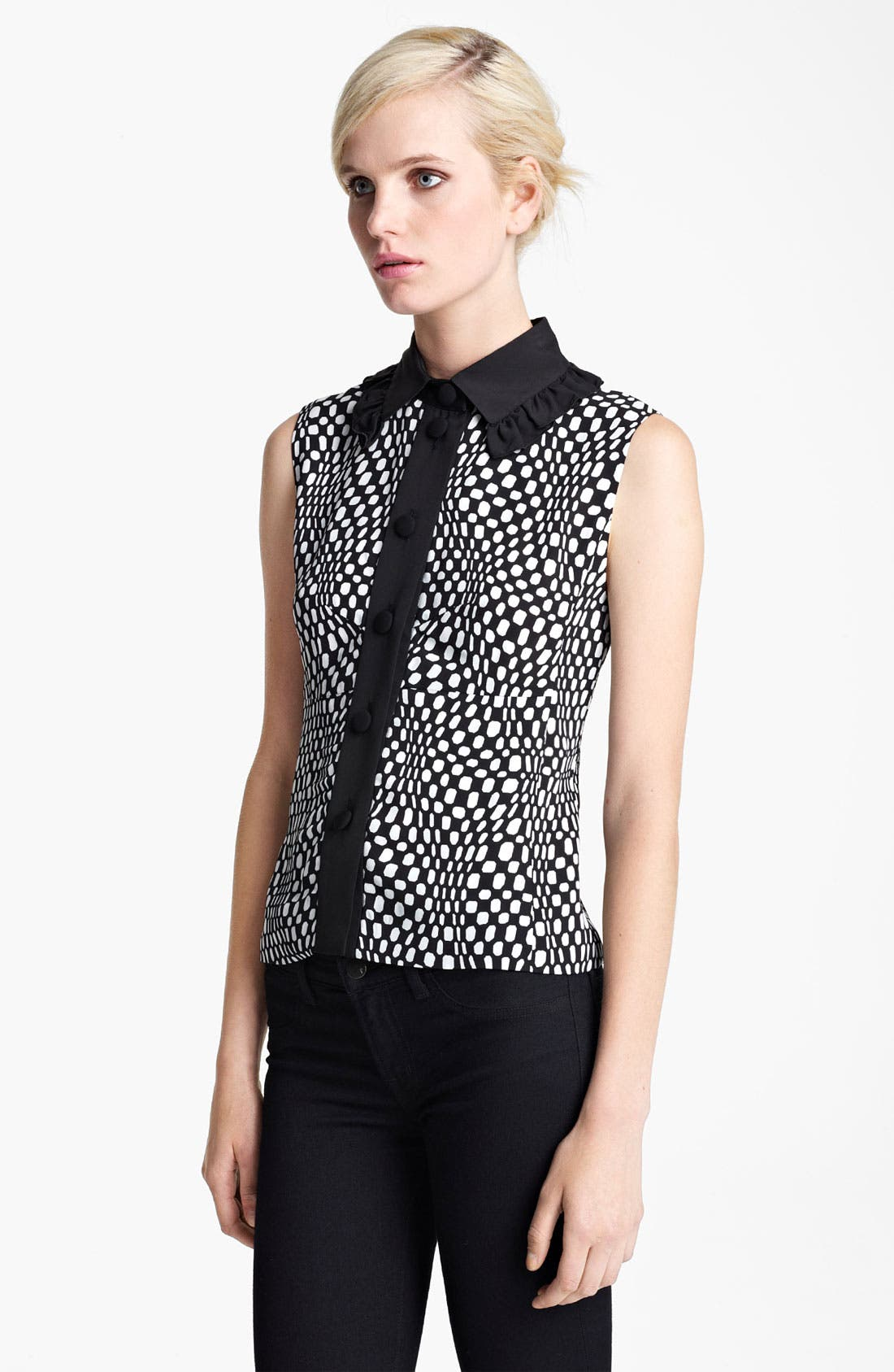 Alternate Image 1 Selected - MARC JACOBS Optic Spot Blouse