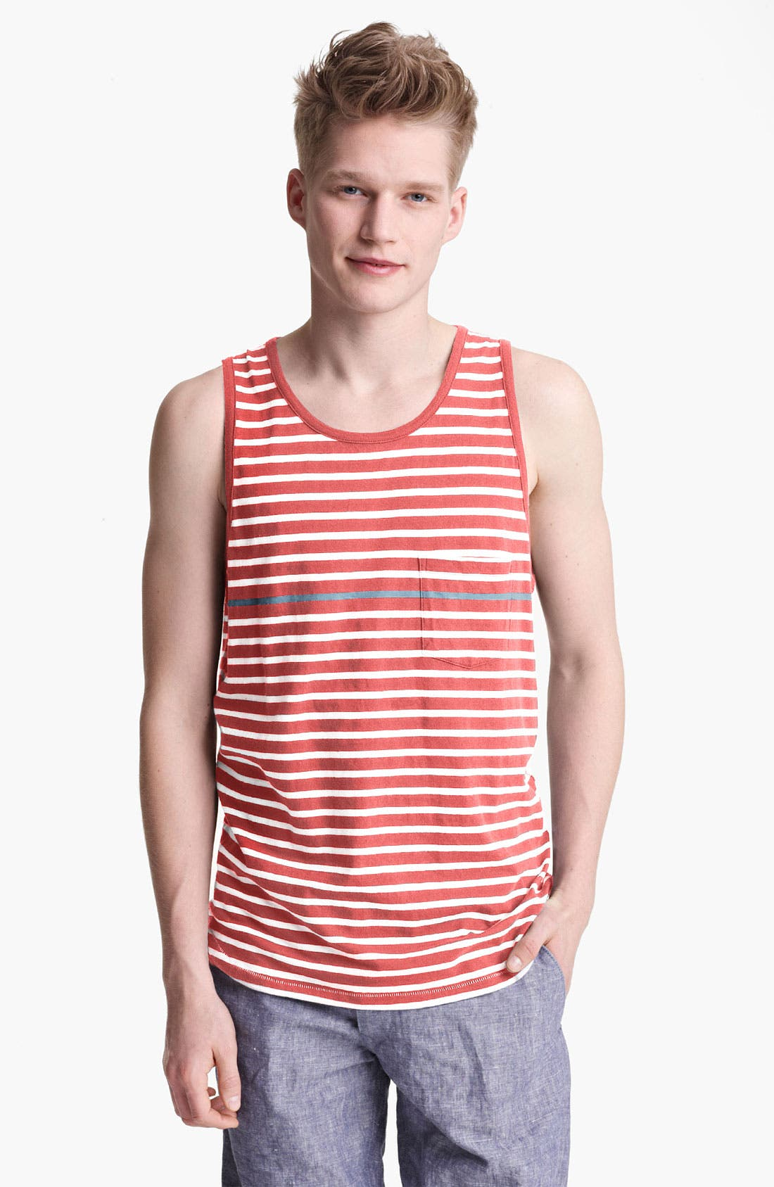 Alternate Image 1 Selected - rag & bone 'Perfect Stripe' Tank Top