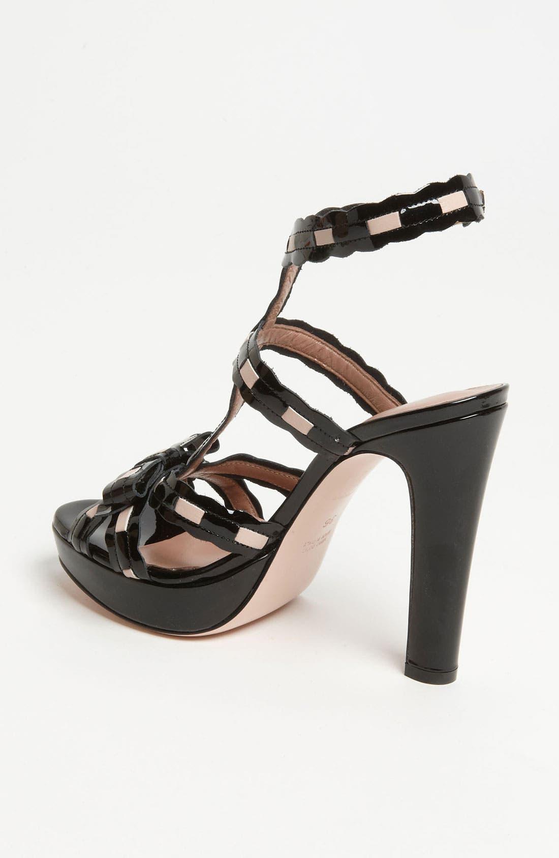 Alternate Image 2  - RED Valentino Patent Sandal