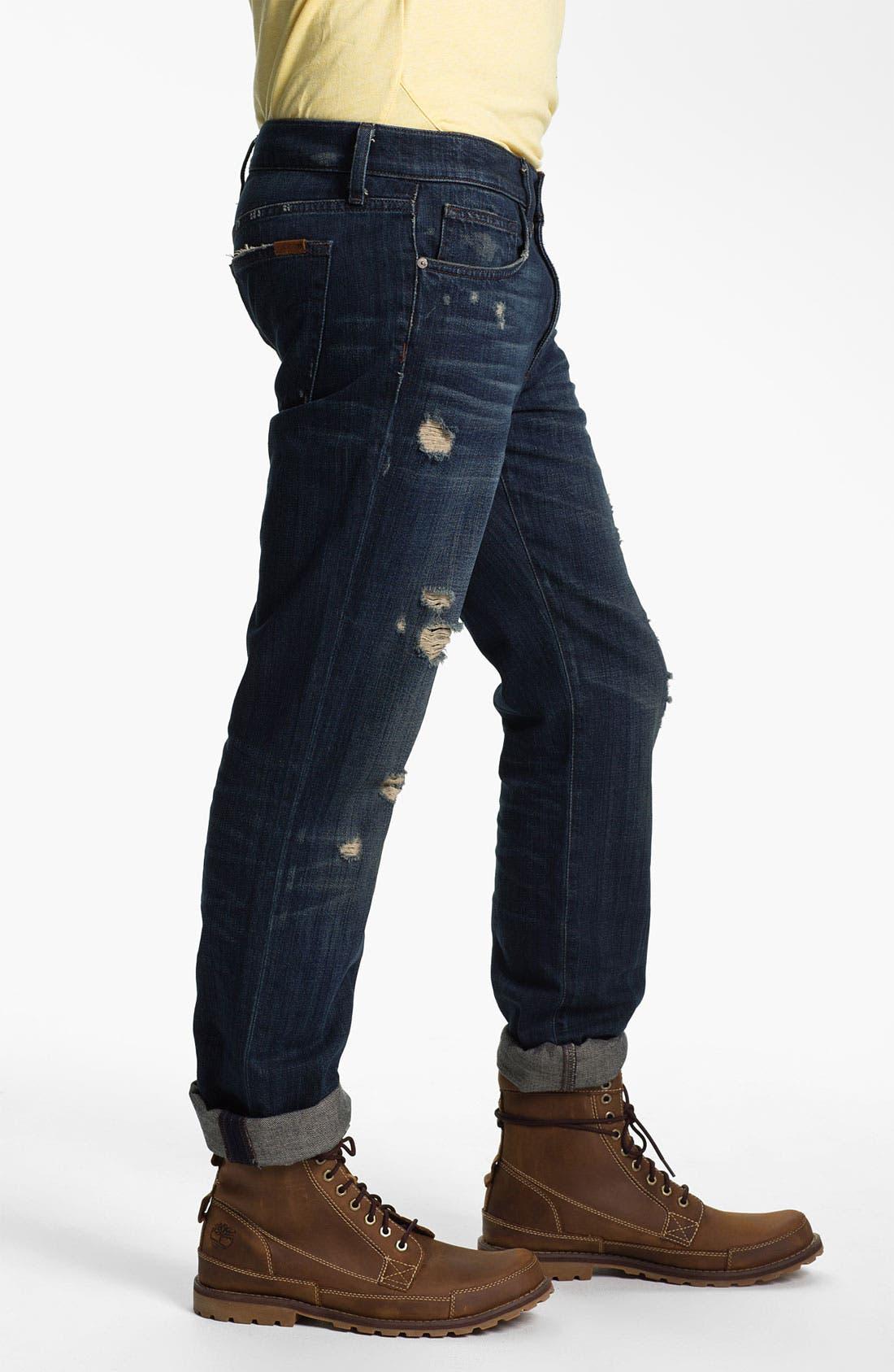 Alternate Image 3  - Joe's 'Brixton' Slim Straight Leg Jeans (Macer)
