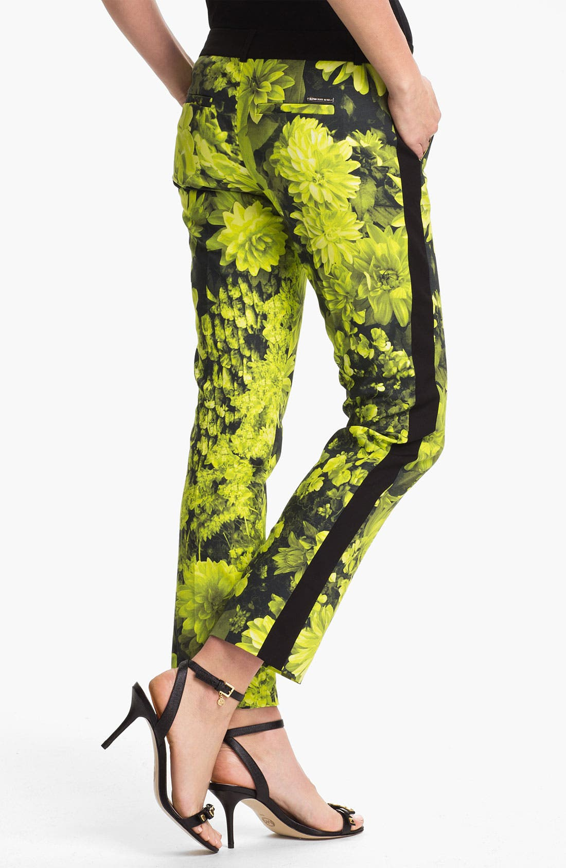 Alternate Image 2  - MICHAEL Michael Kors 'English Garden' Skinny Ankle Pants