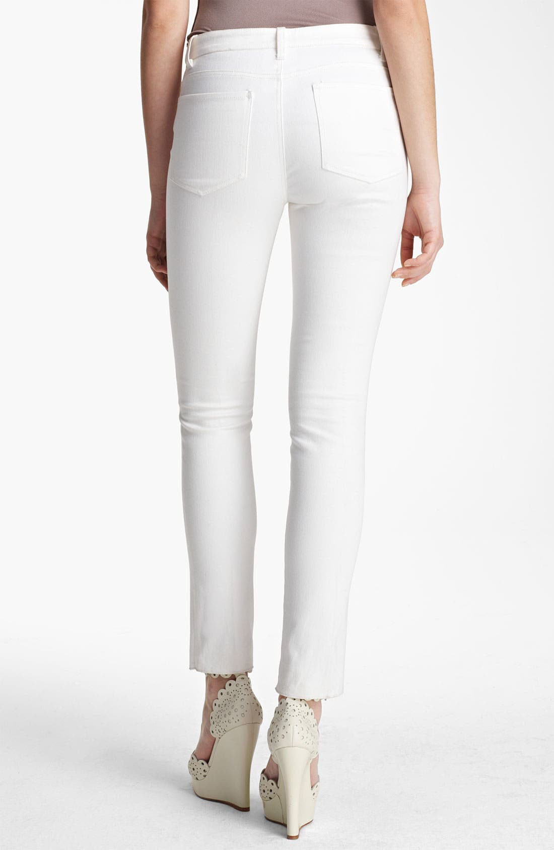 Alternate Image 2  - Oscar de la Renta Skinny Jeans