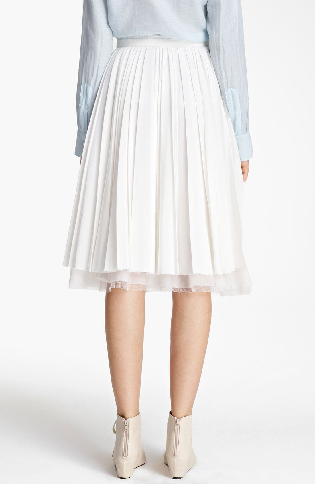 Alternate Image 3  - Band of Outsiders Pleated Skirt