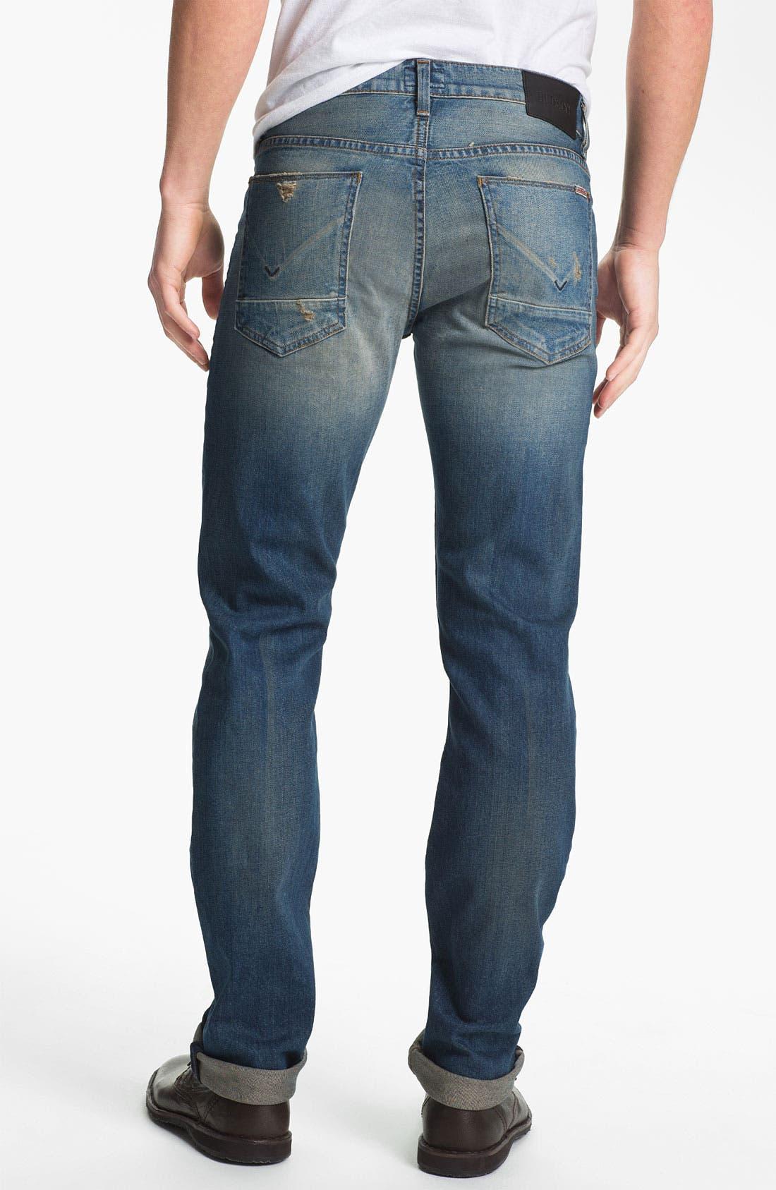 Alternate Image 2  - Hudson Jeans 'Byron' Straight Leg Jeans (Tyler)