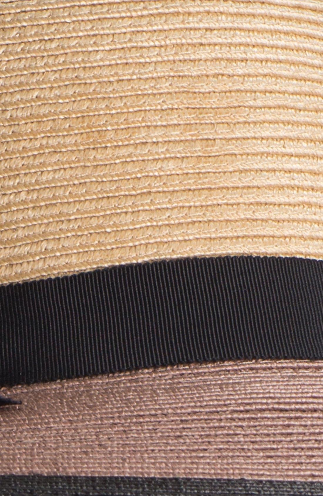 Alternate Image 2  - kate spade new york colorblock woven sun hat