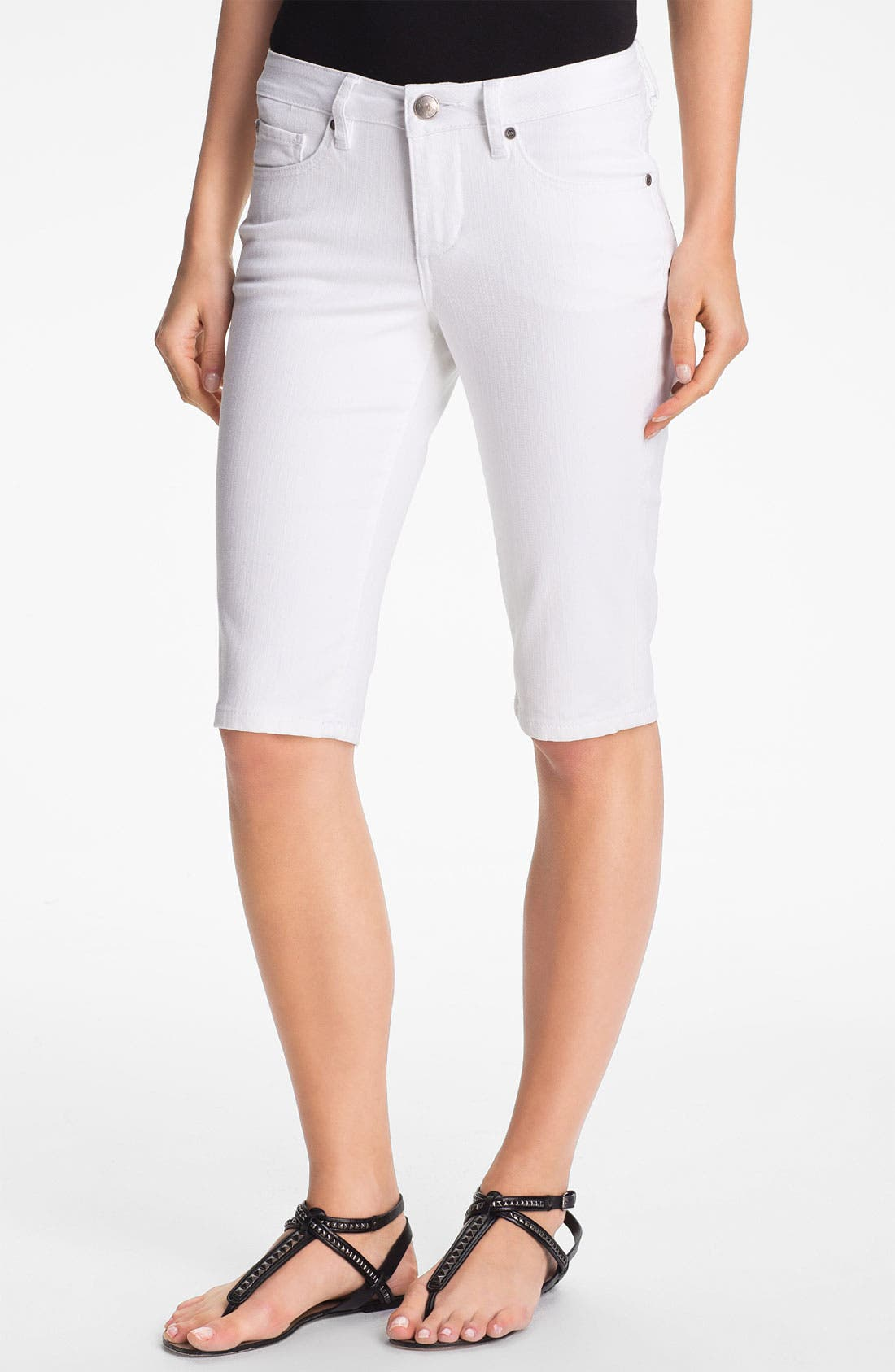 Main Image - Jag Jeans 'Robbie' Skinny Bermuda Shorts