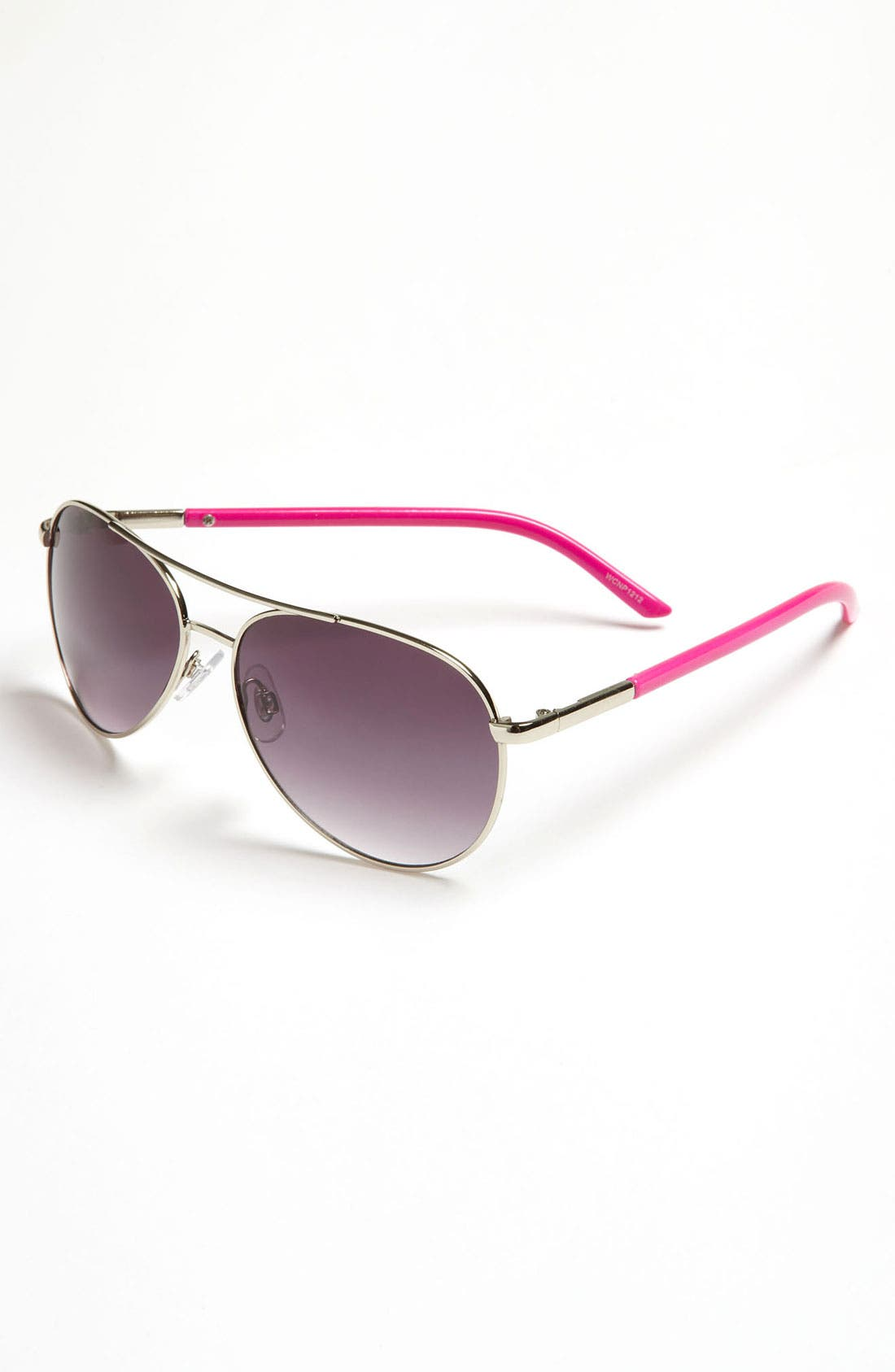 Alternate Image 1 Selected - Fantas Eyes Aviator Sunglasses (Big Girls)