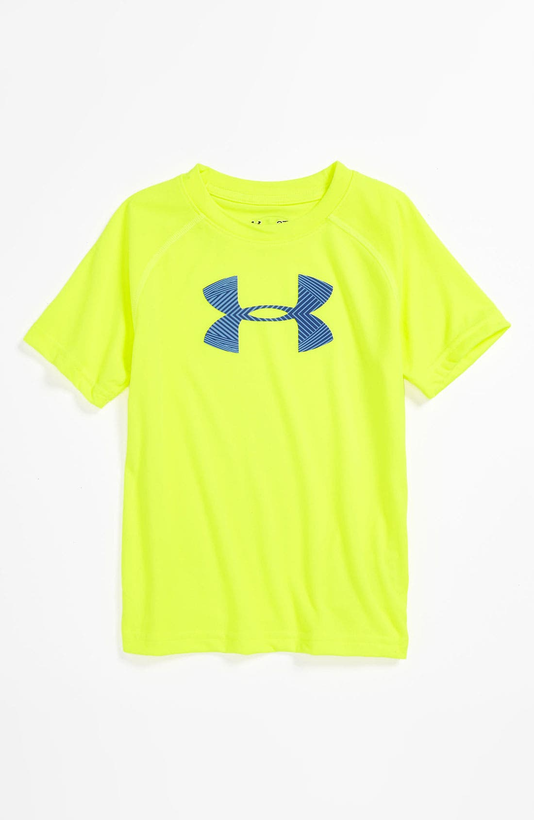 Main Image - Under Armour Neon Logo T-Shirt (Infant)