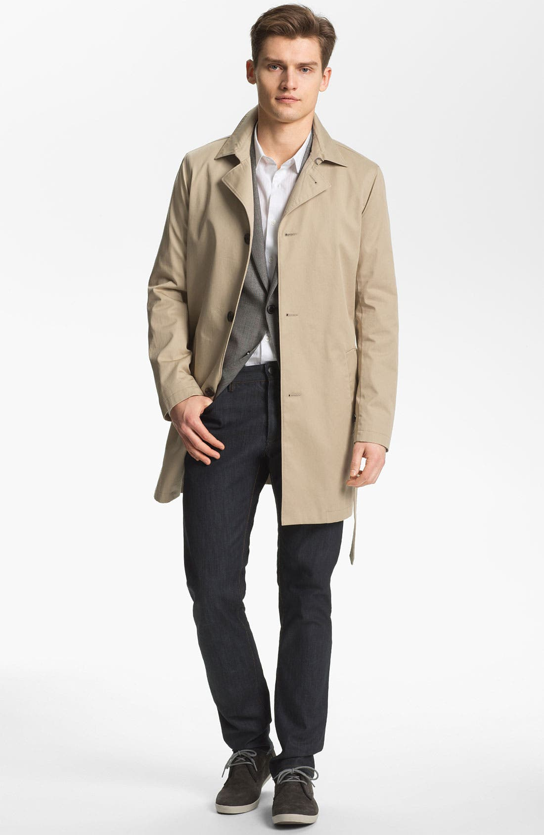 Alternate Image 1 Selected - Theory 'Sigurd Fayston' Trench Coat