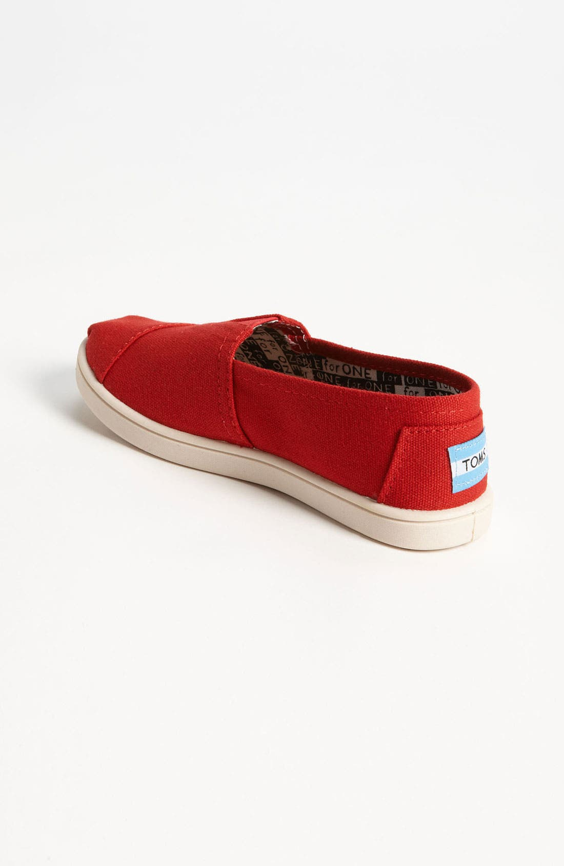 Alternate Image 2  - TOMS 'Classic - Youth' Slip-On (Toddler, Little Kid & Big Kid)