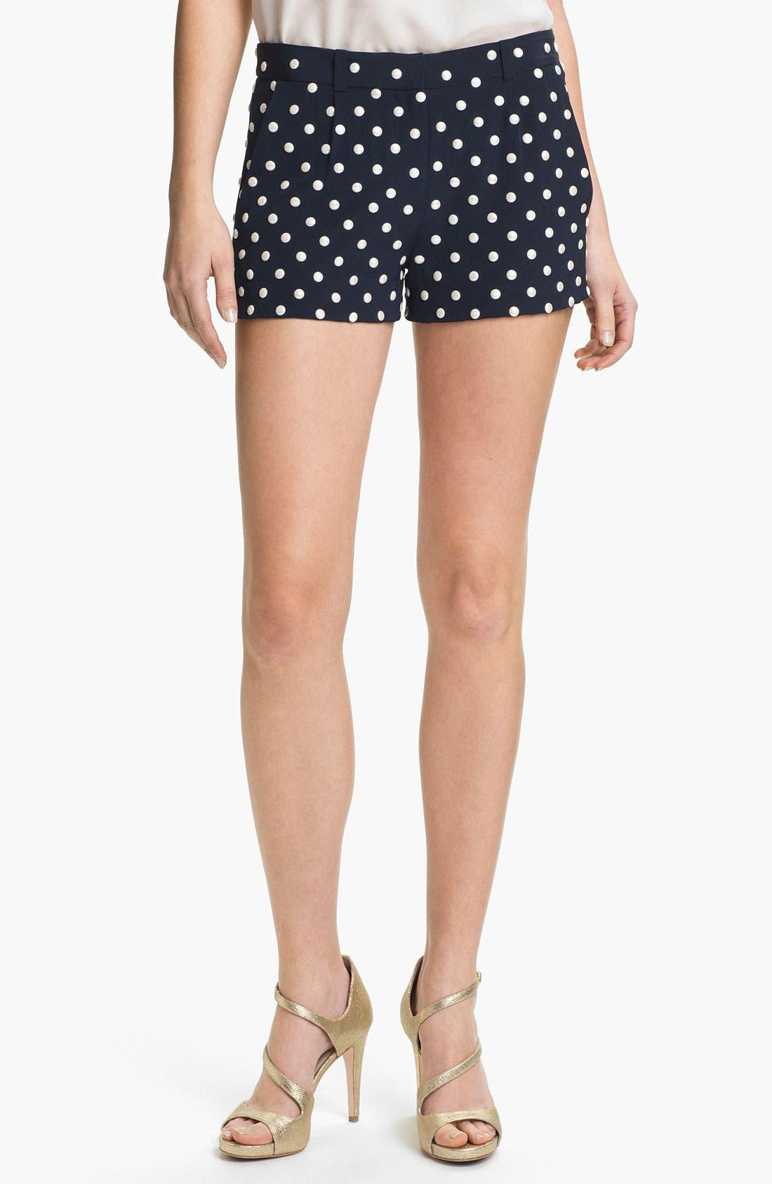 Main Image - Diane von Furstenberg 'Fran' Studded Shorts