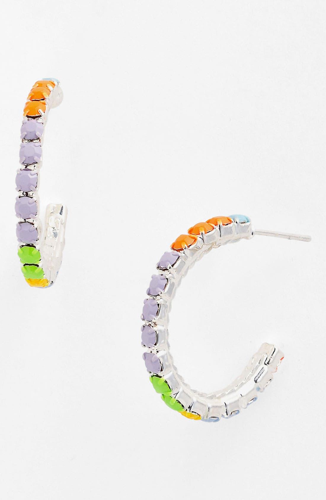 Alternate Image 1 Selected - Tom Binns 'Electro Clash Nova' Hoop Earrings