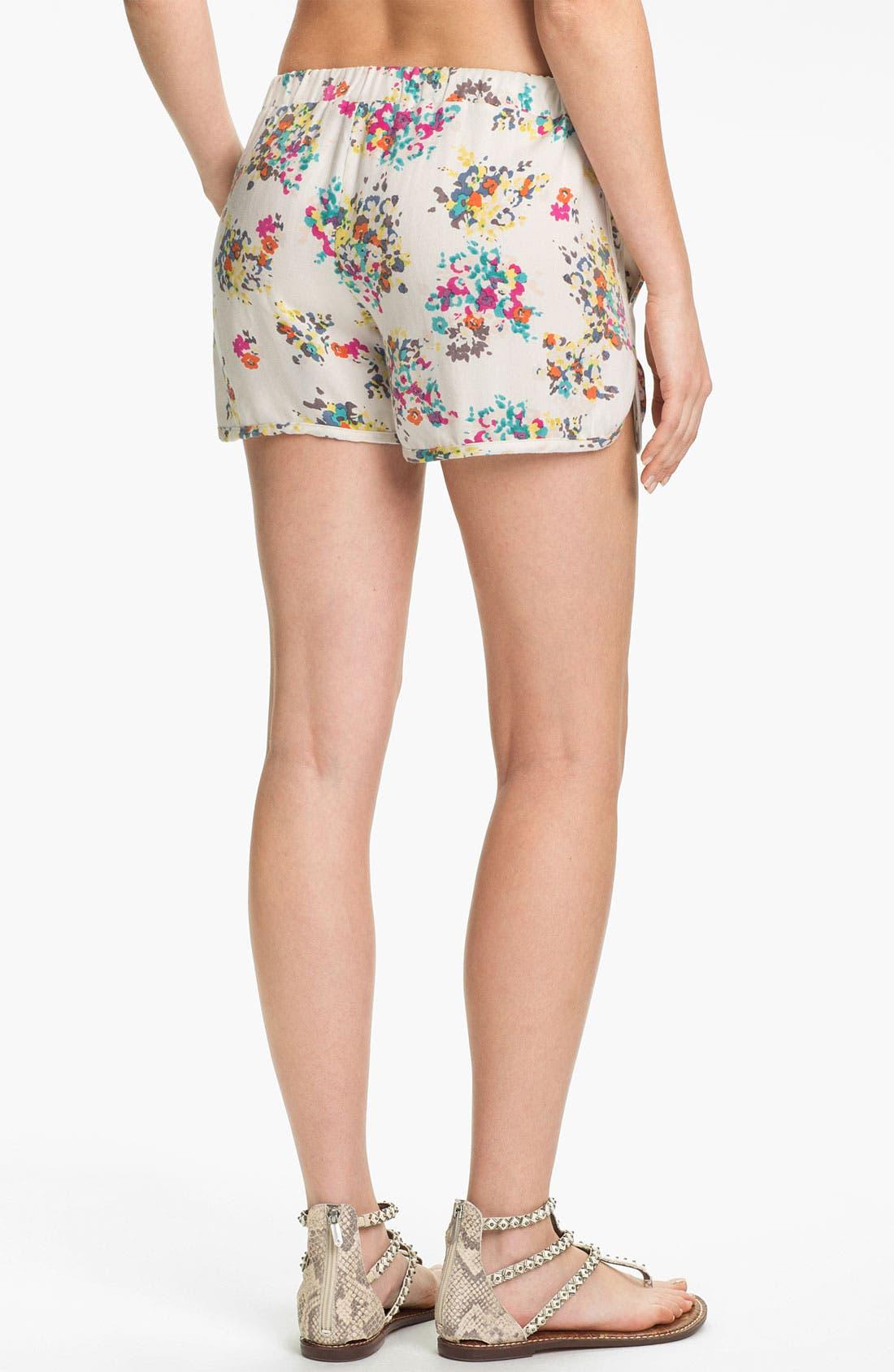 Alternate Image 2  - Ella Moss 'Citrus Floral' Print Shorts