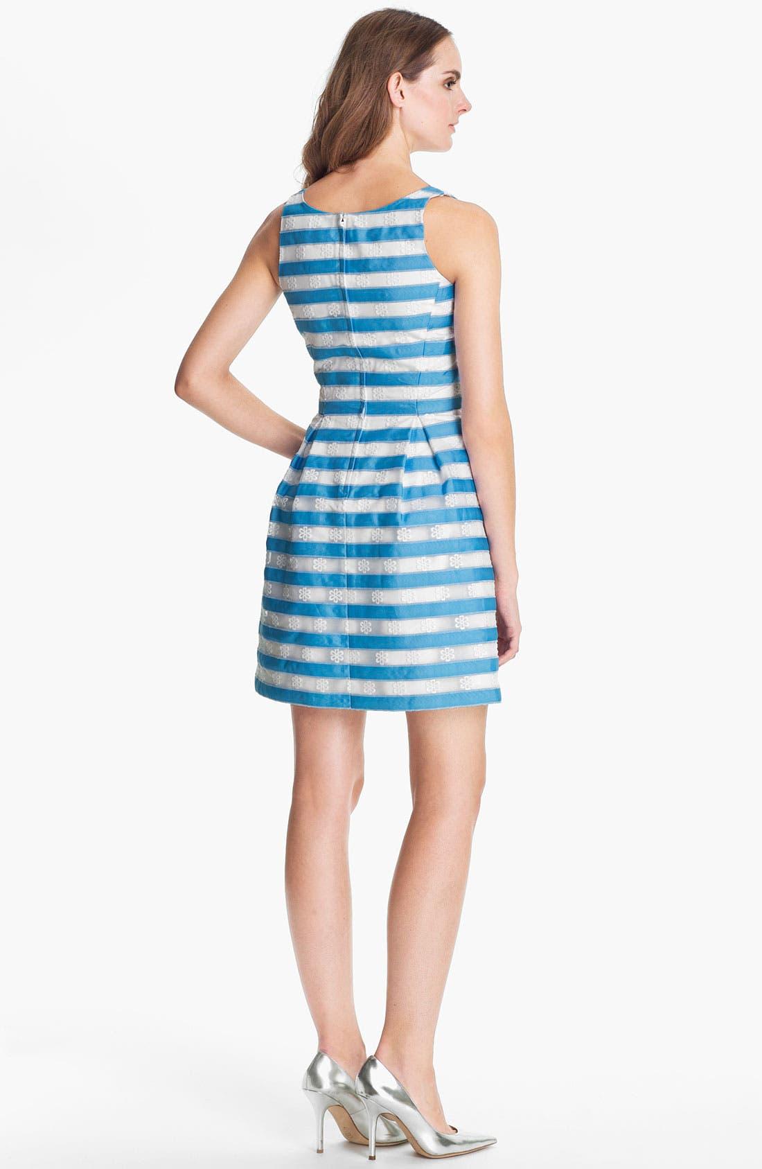 Alternate Image 2  - Lilly Pulitzer® 'Joslin' Stripe Fit & Flare Dress